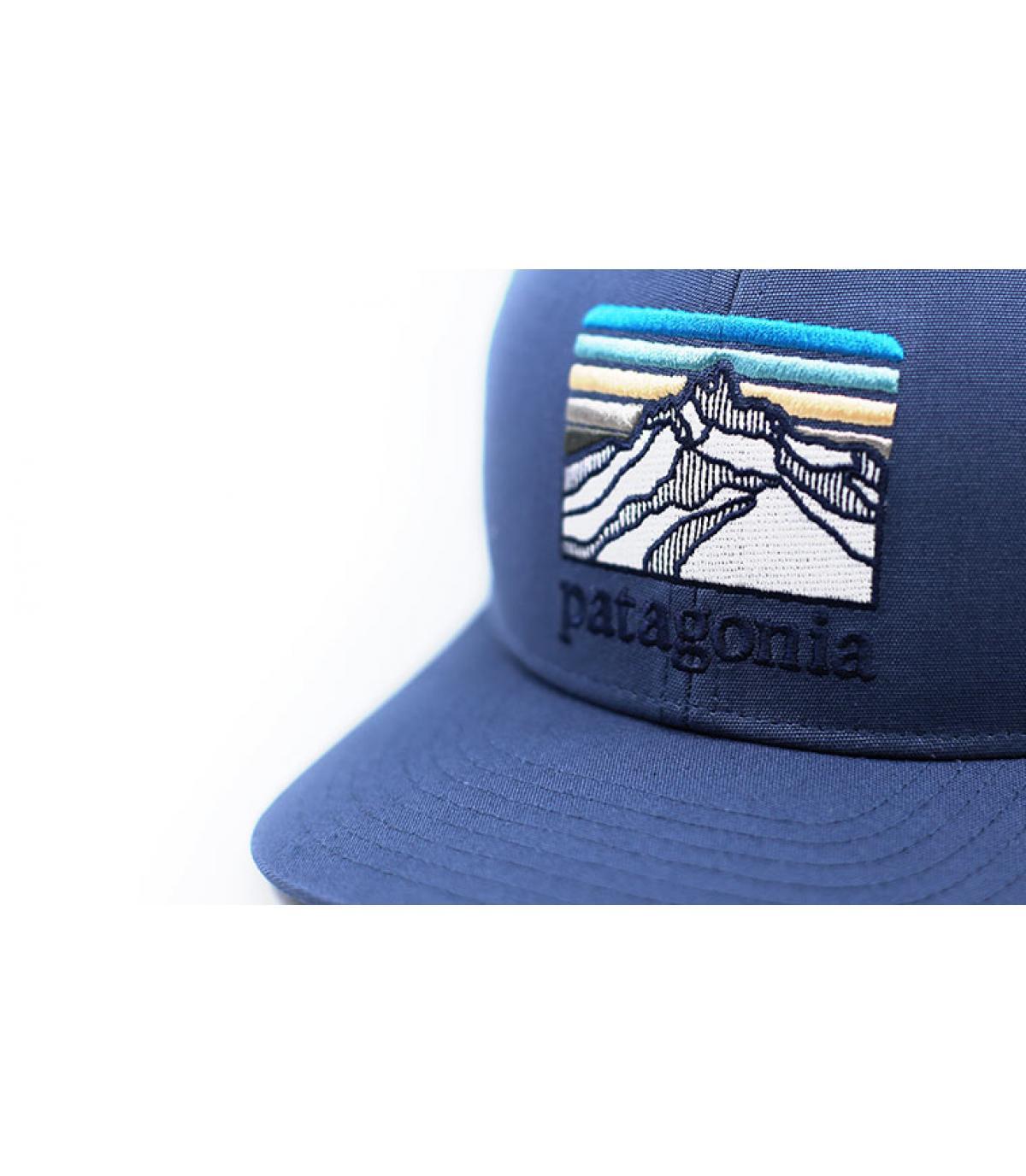 Détails Kids Trucker Line Logo Ridge dolomite  blue - image 3