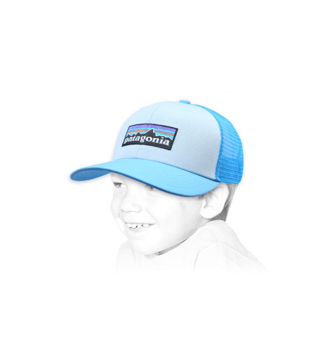 trucker enfant bleu Patagonia