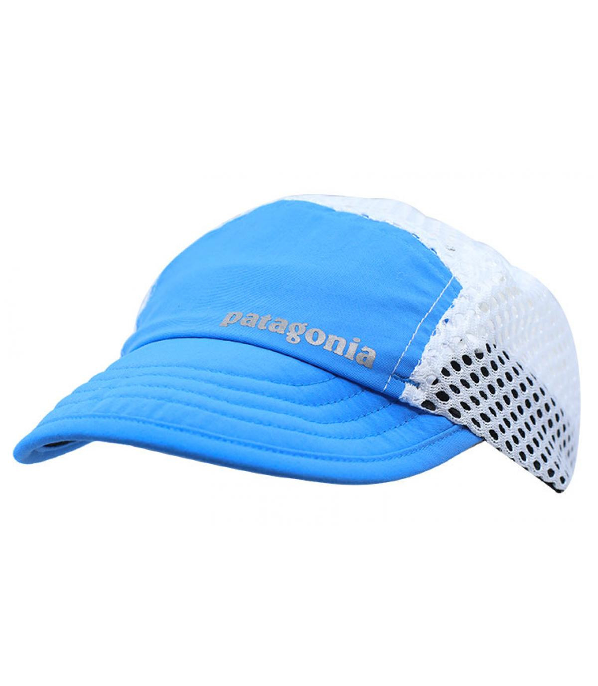 casquette running Patagonia bleu