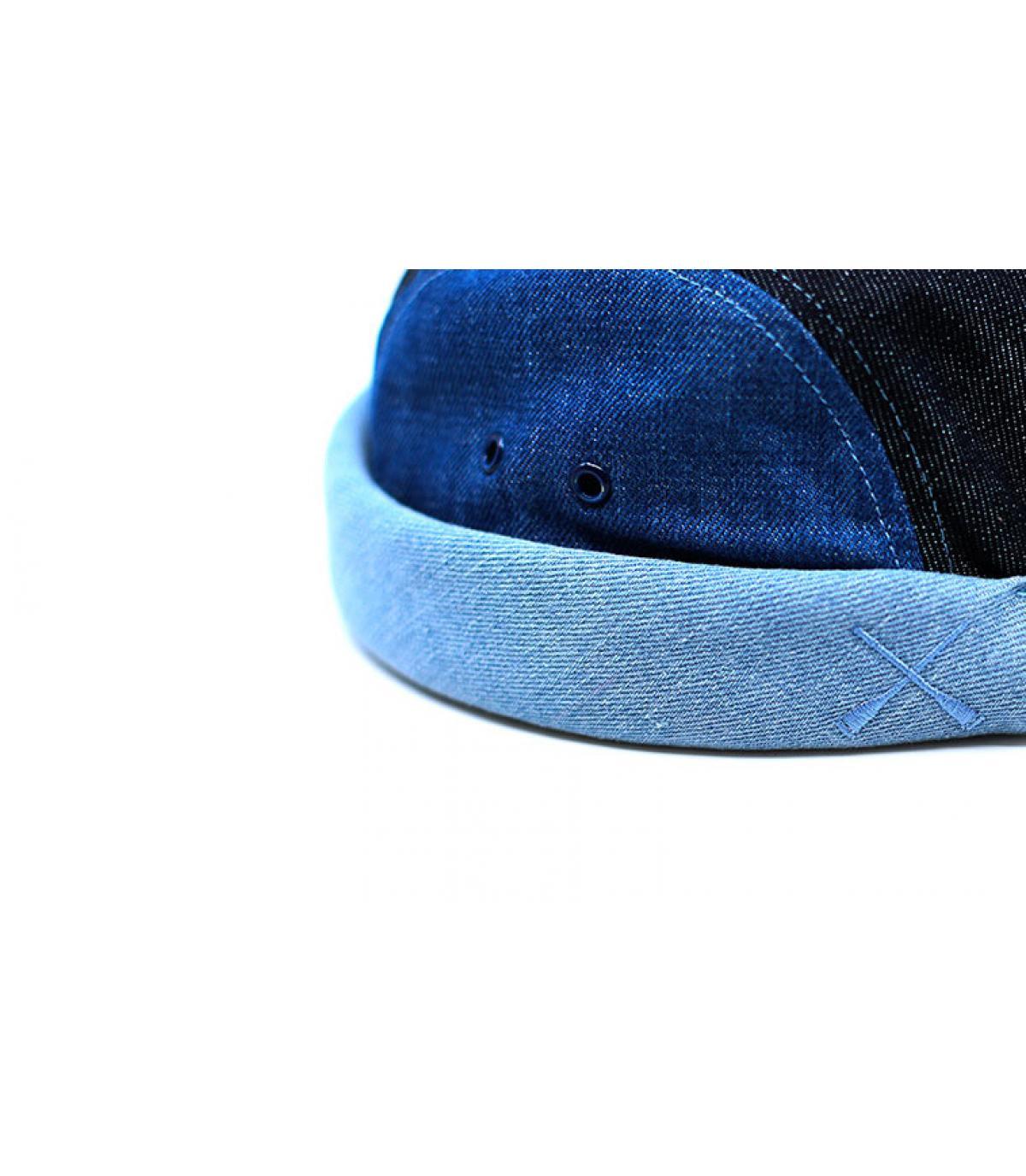 Détails Miki 5 Panel denim blue - image 4