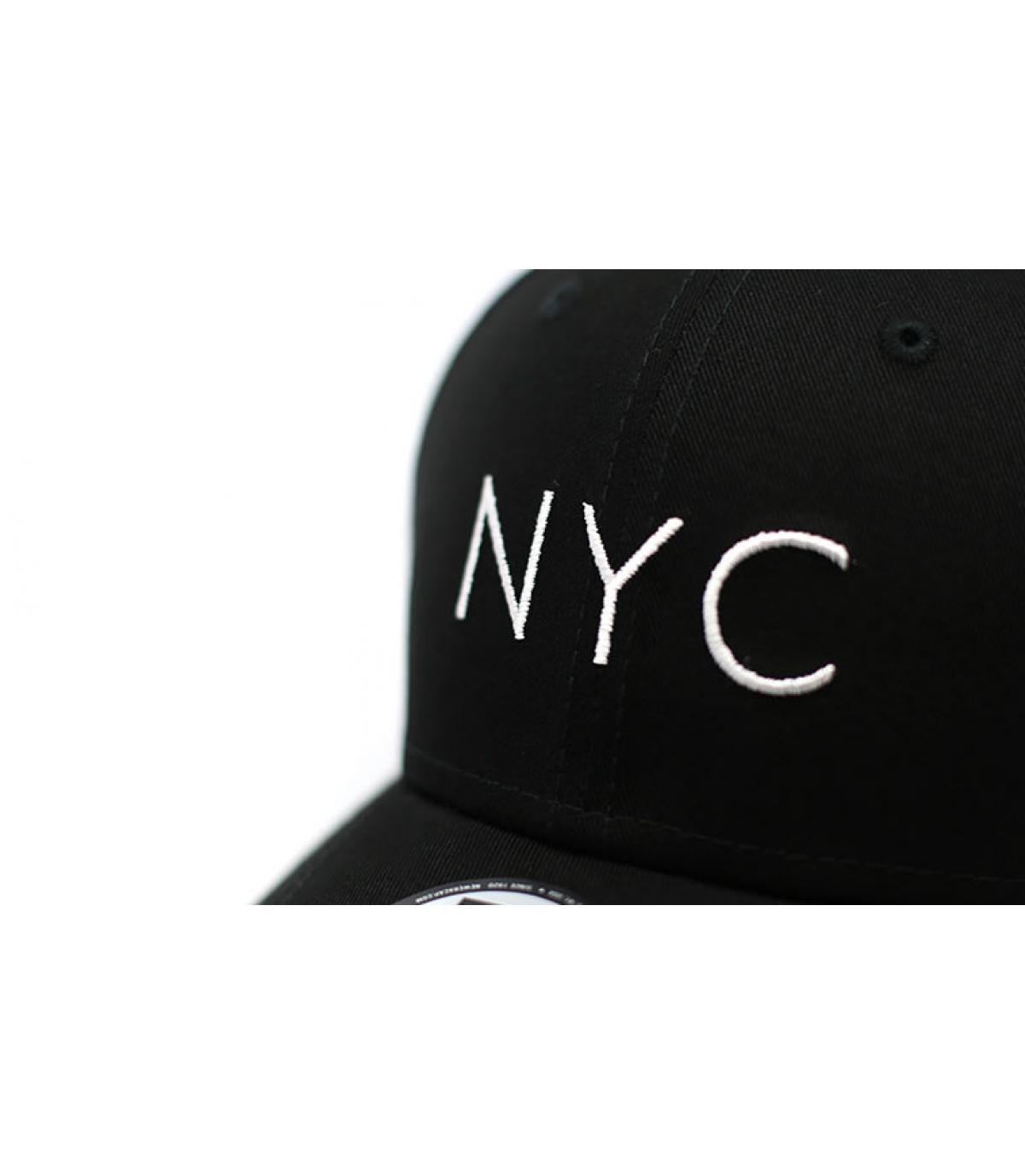 Détails Casquette NYC NE Ess 9Forty black - image 3