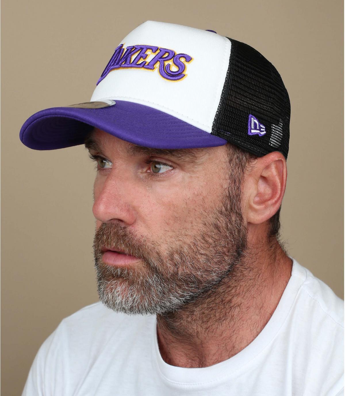 trucker Lakers bleu