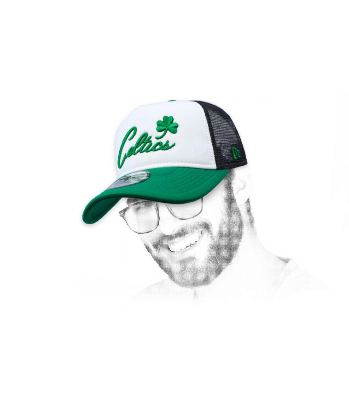 trucker Celtics vert