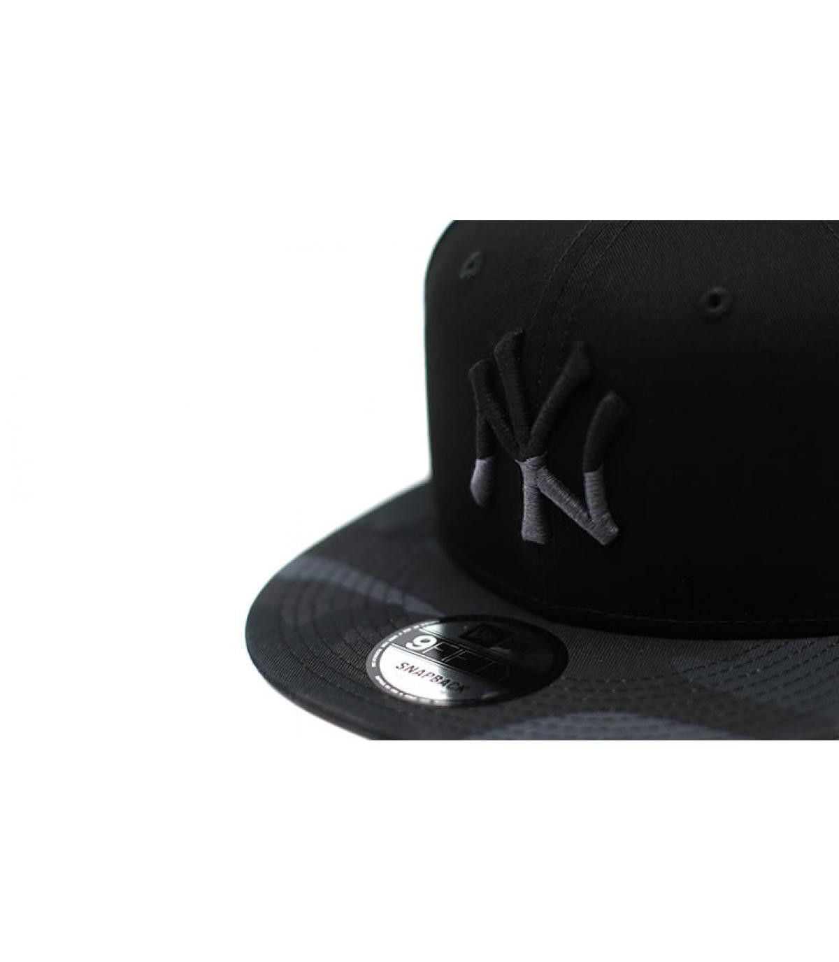 Détails Snapback Camo Ess NY 9Fifty black moody - image 3