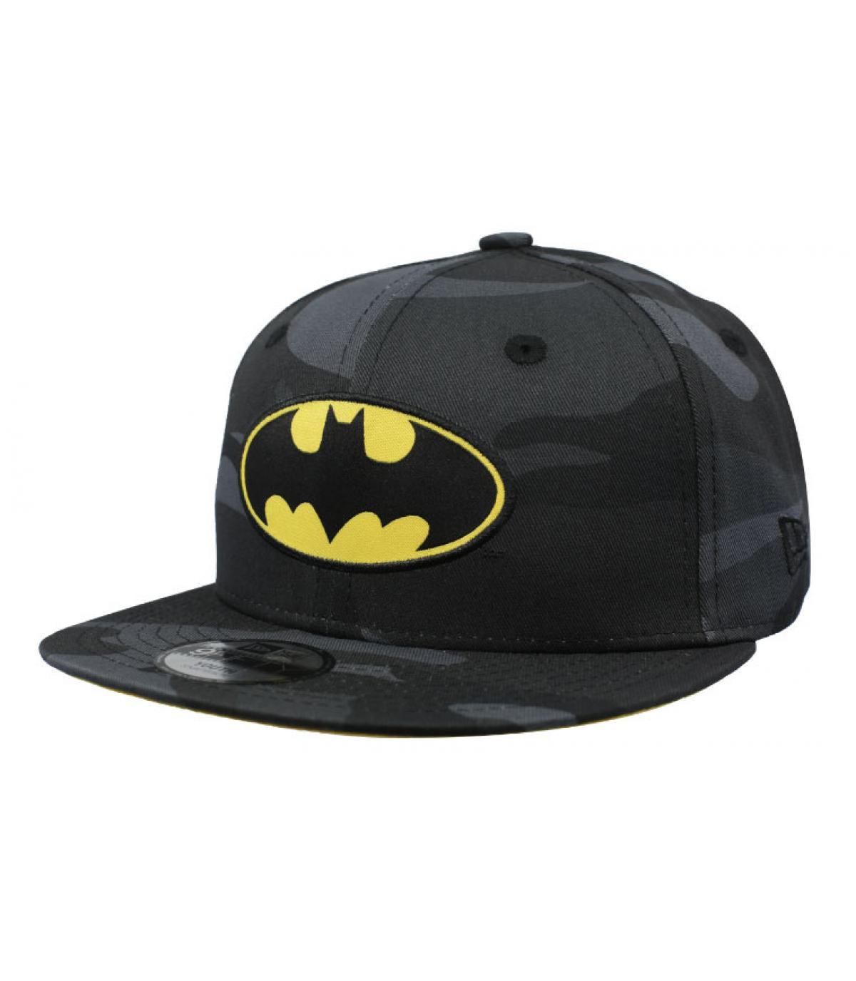 666301a0fb5 casquette Batman enfant - Snapback Kids Batman 9Fifty woodland Camo ...