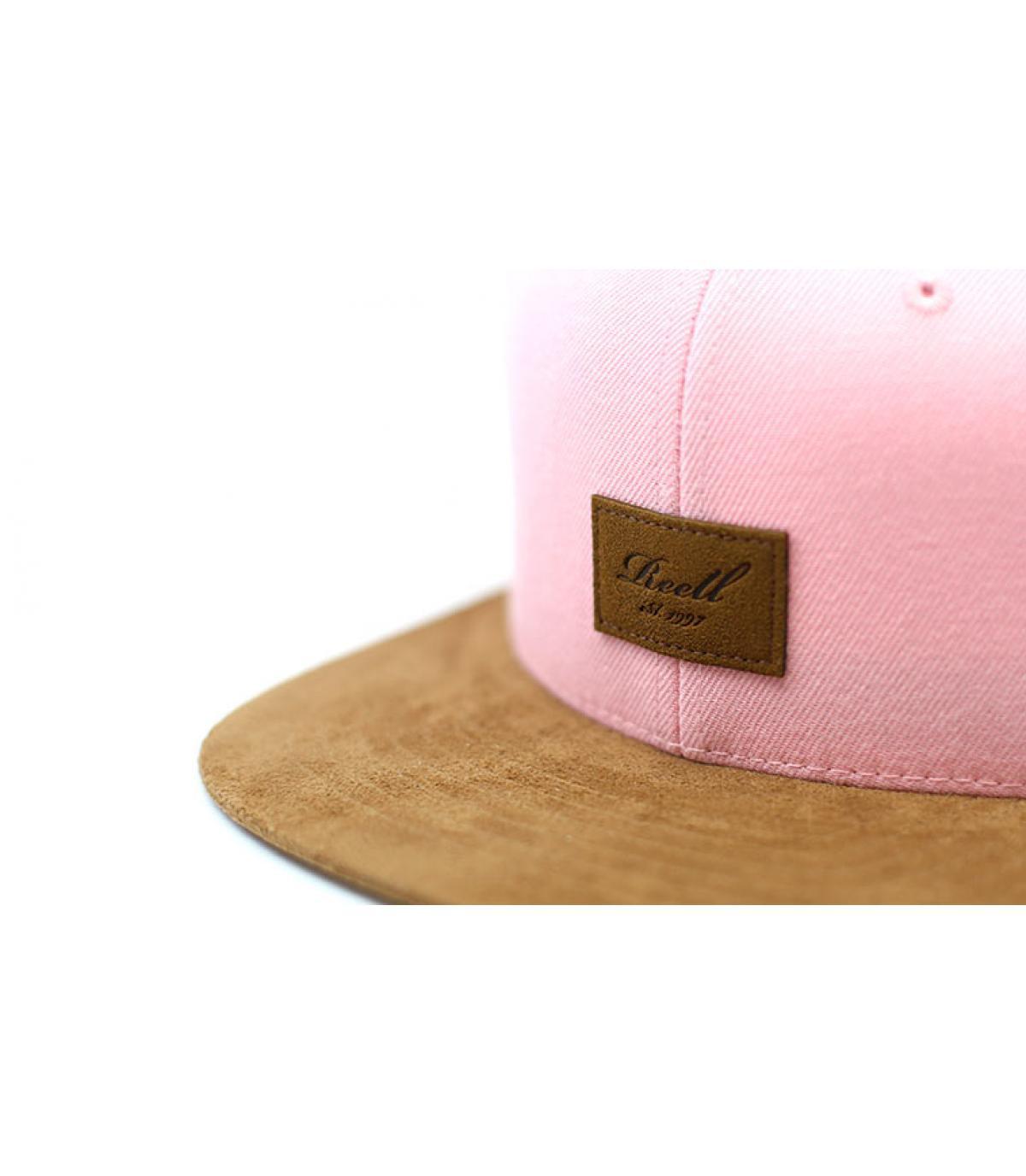 Détails Suede Cap light pink - image 3