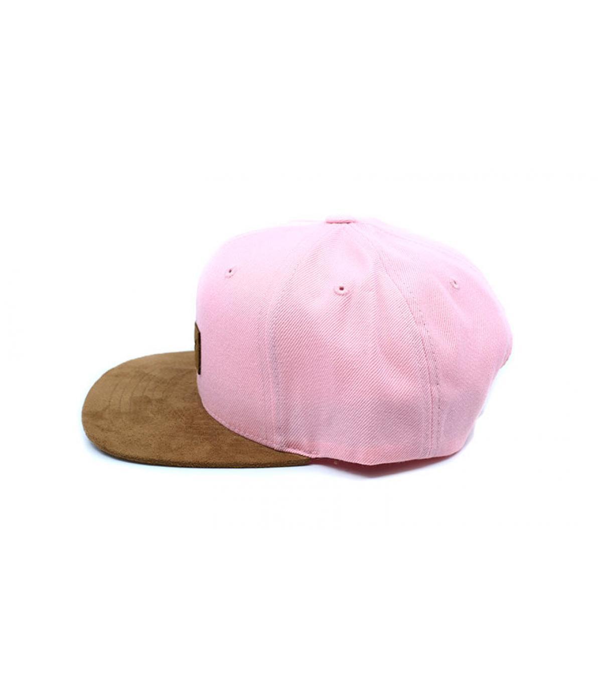 Détails Suede Cap light pink - image 4