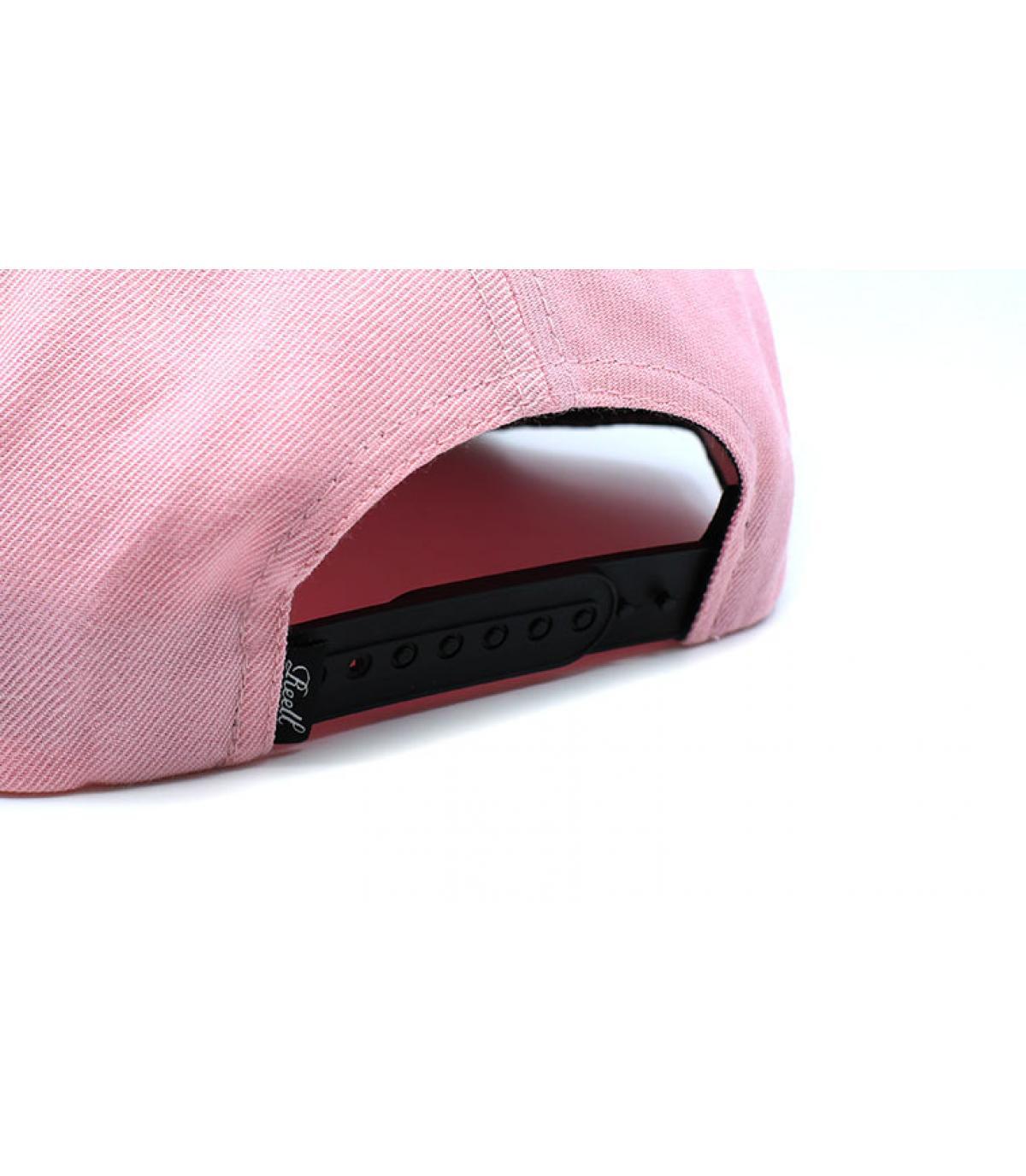 Détails Suede Cap light pink - image 5