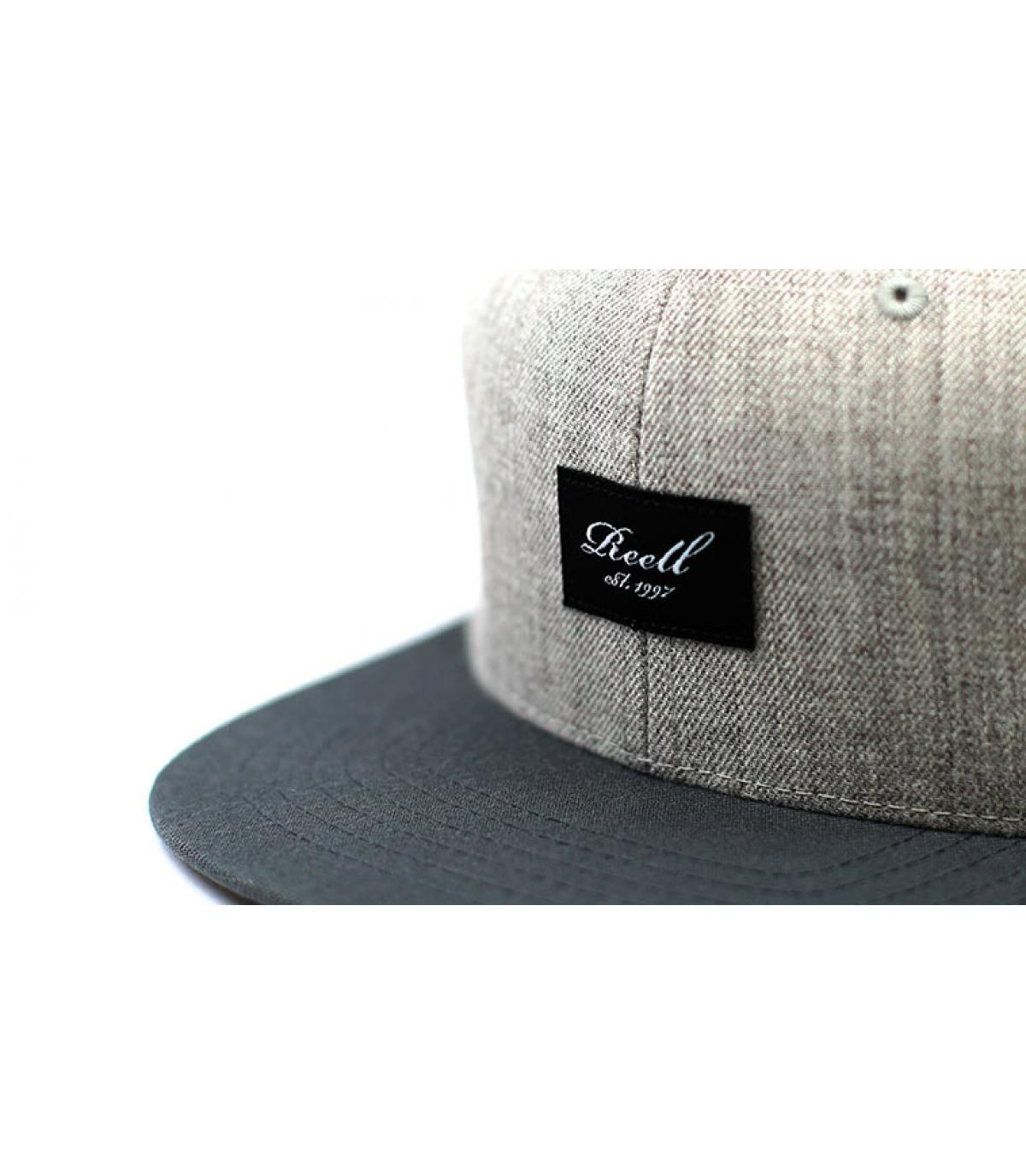 Détails Pitchout Cap heather light grey grey black - image 3