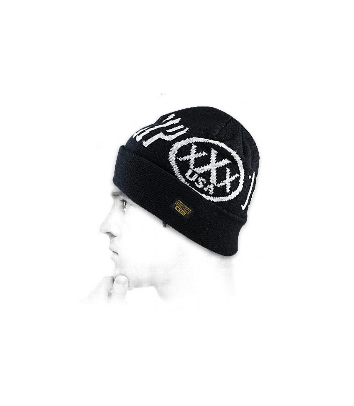 Bonnet 10 Deep noir