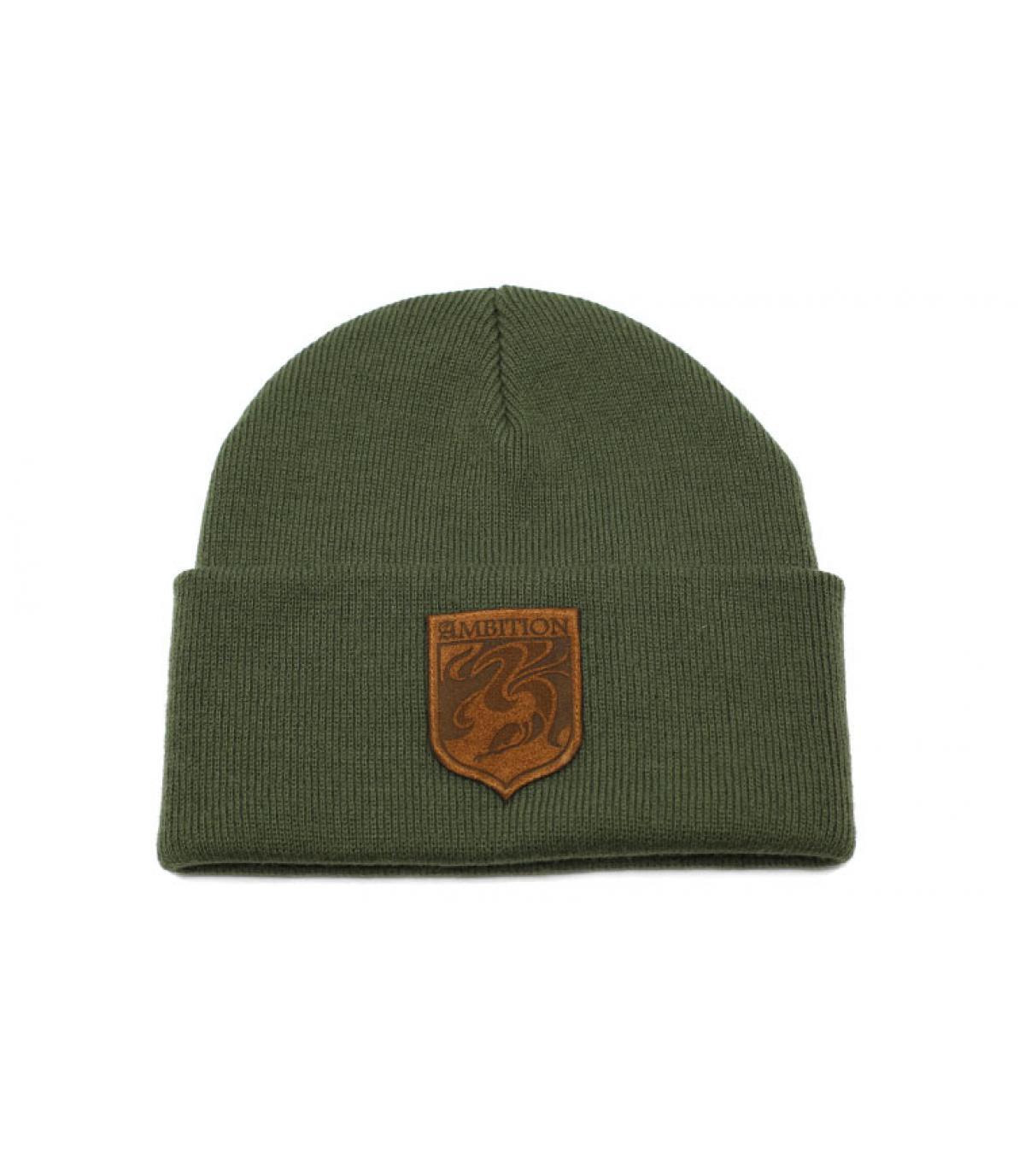 bonnet Ambition vert