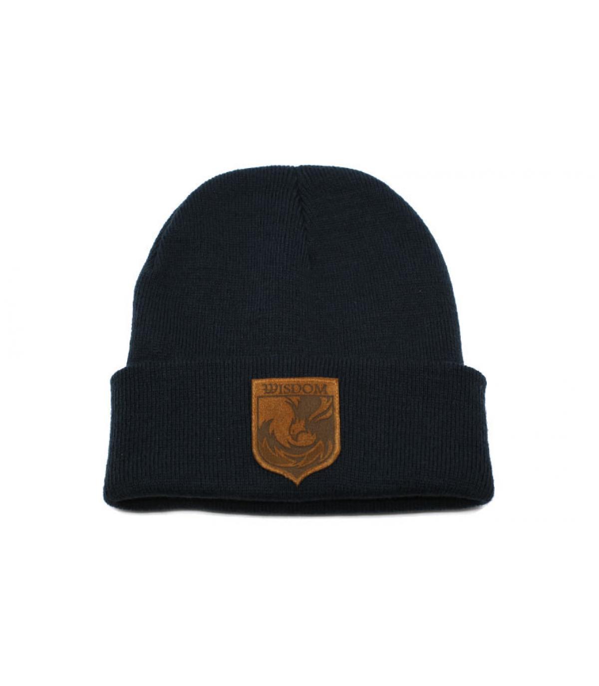 bonnet Wisdom bleu