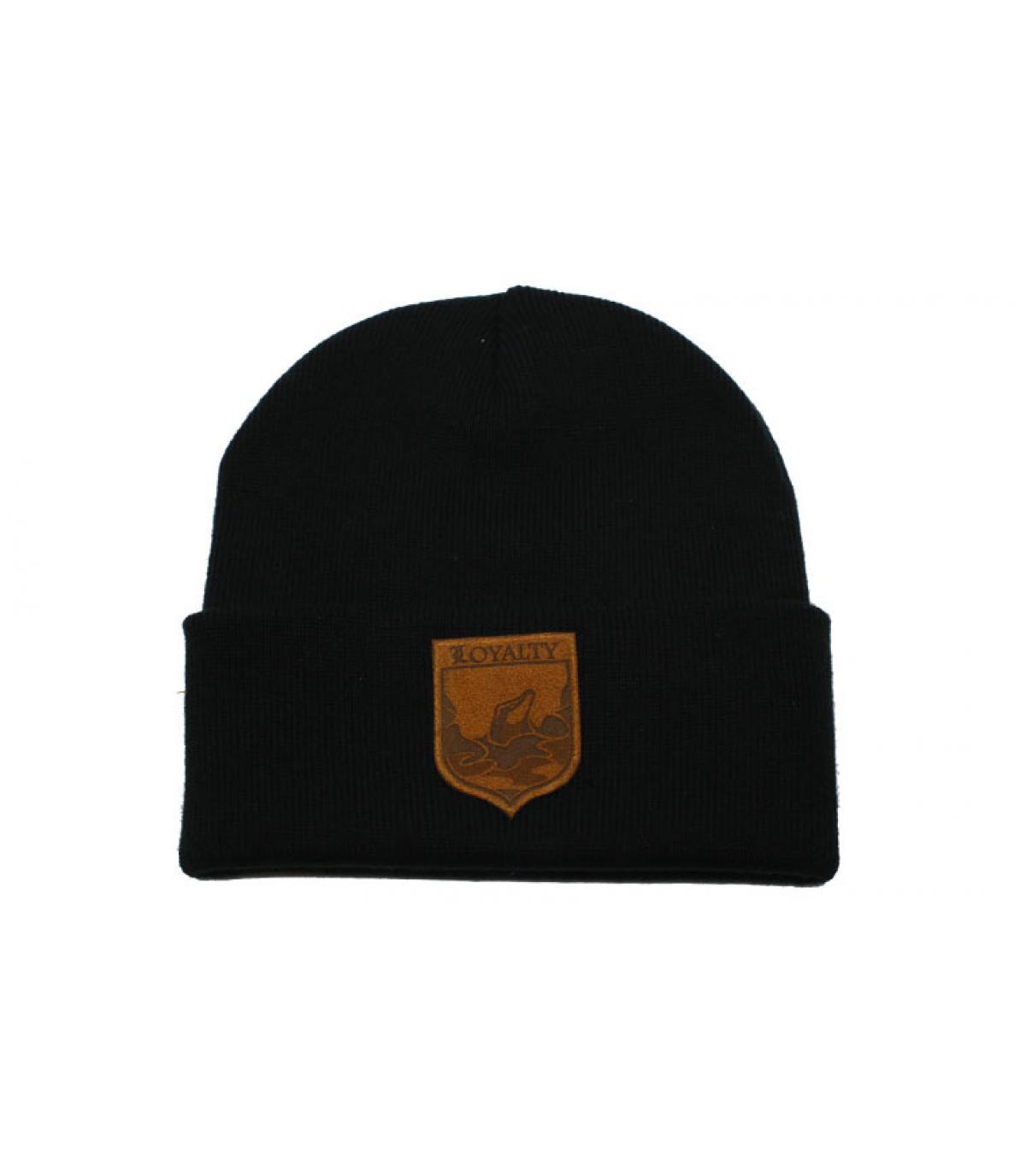 bonnet Loyalty noir