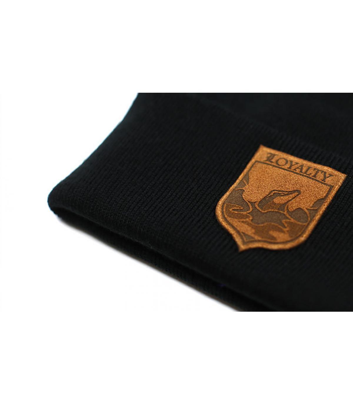 Détails Bonnet Loyalty black - image 3