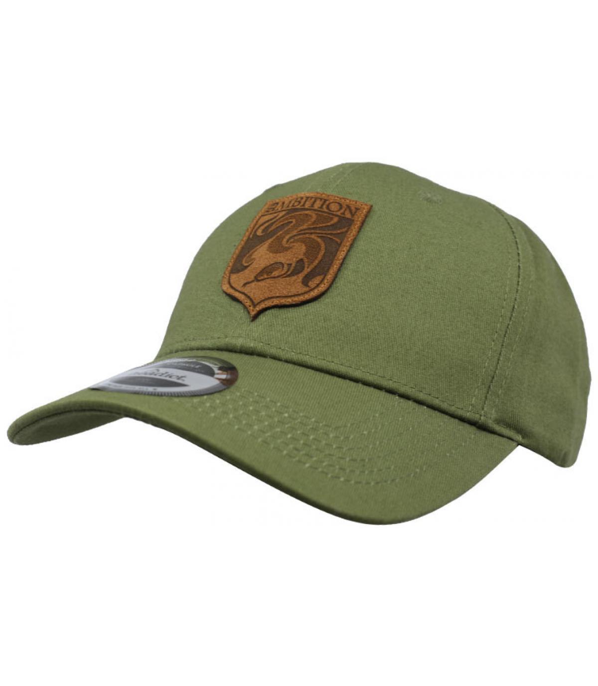 casquette Ambition vert