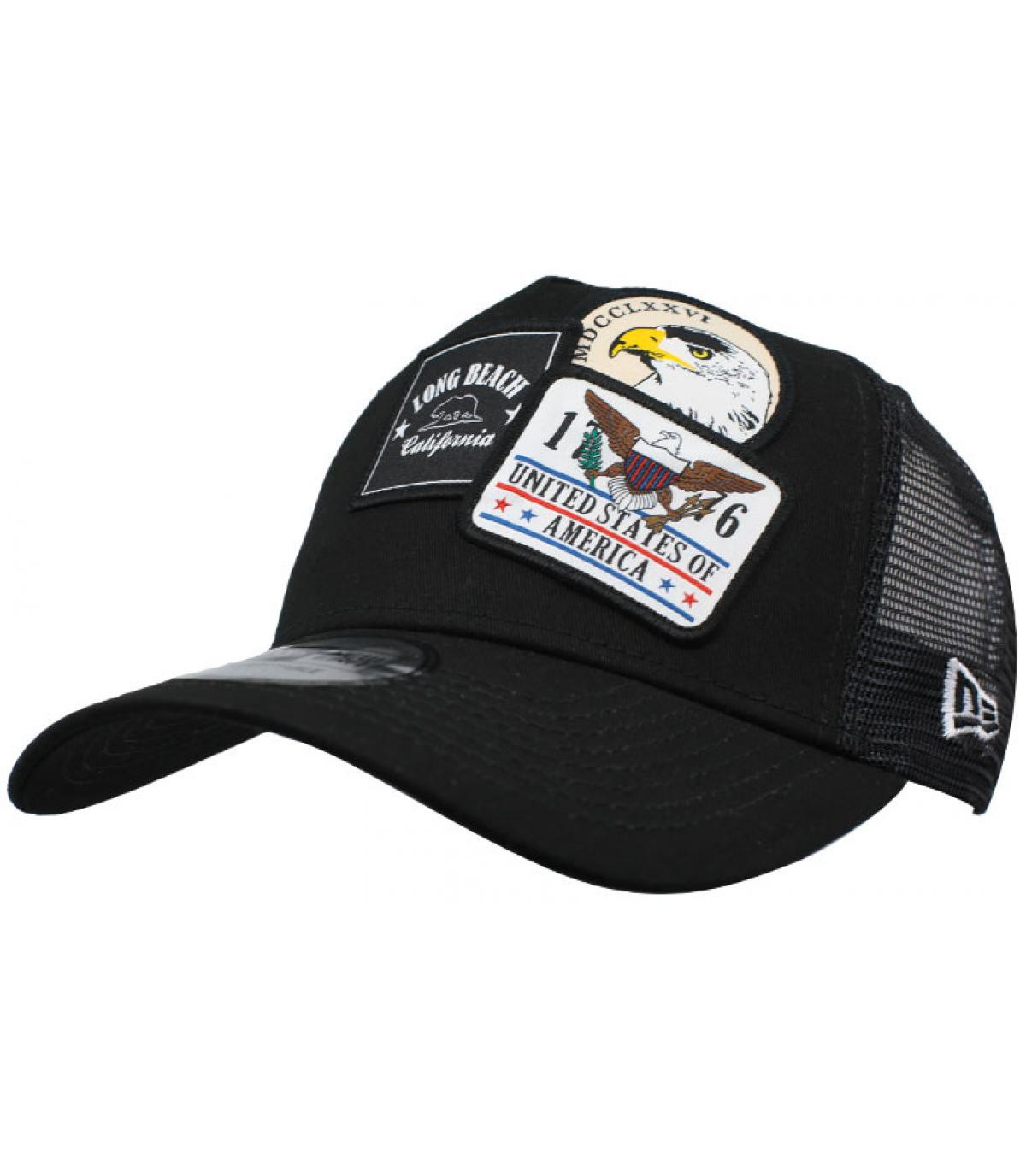 Détails Trucker Overlapping patch black - image 2