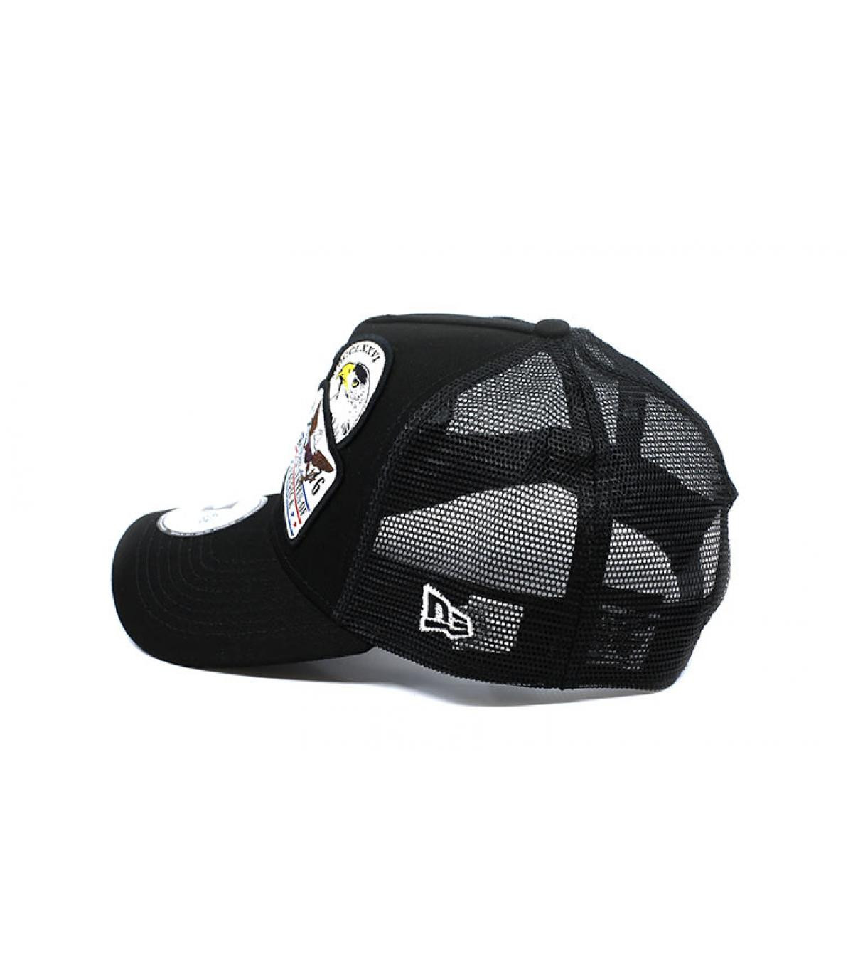 Détails Trucker Overlapping patch black - image 4