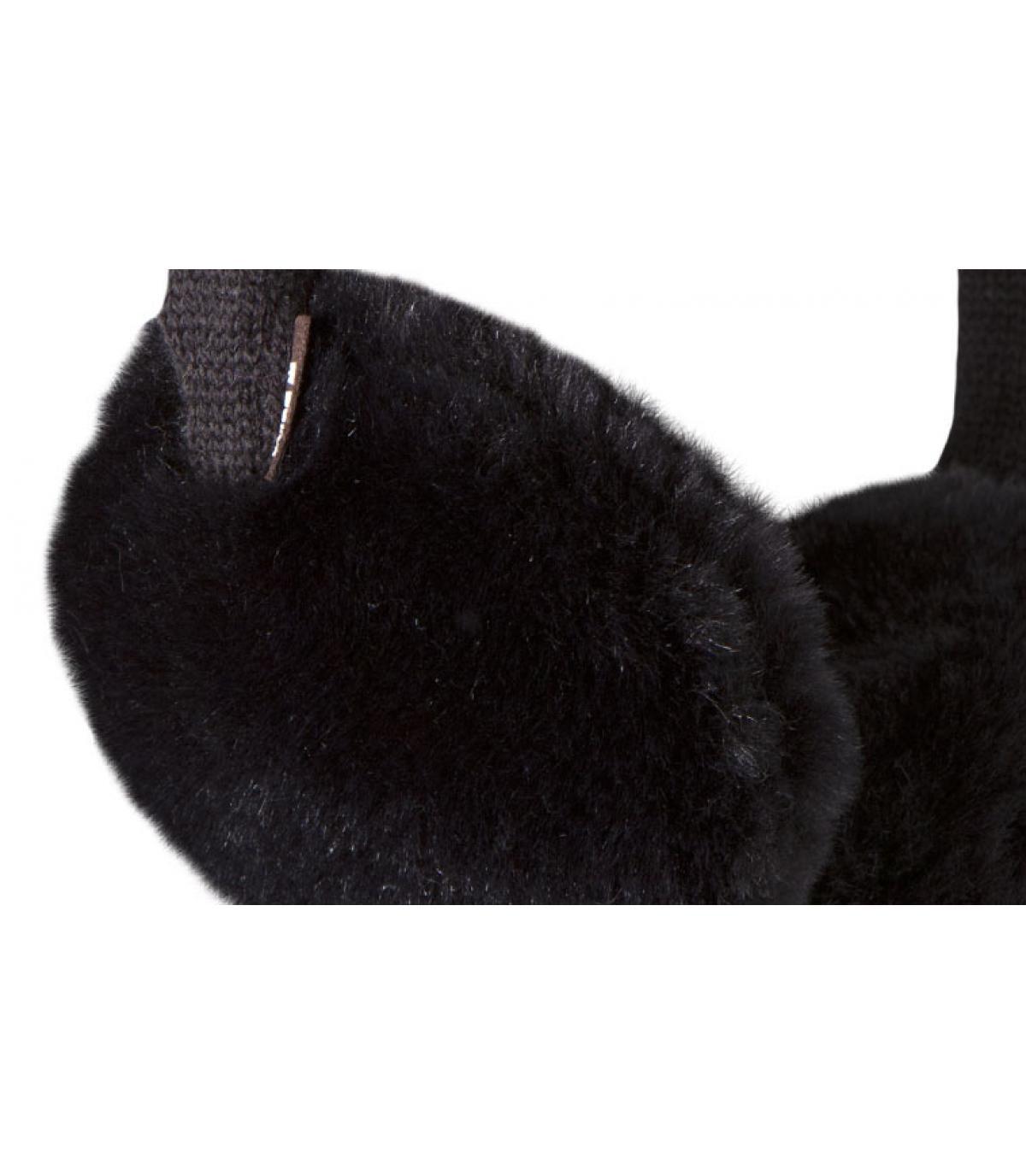 Caches oreilles noir