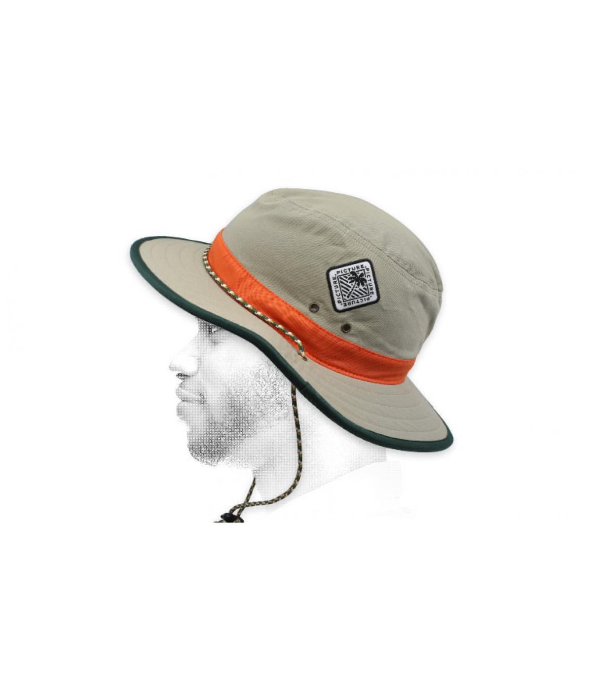 chapeau Picture beige