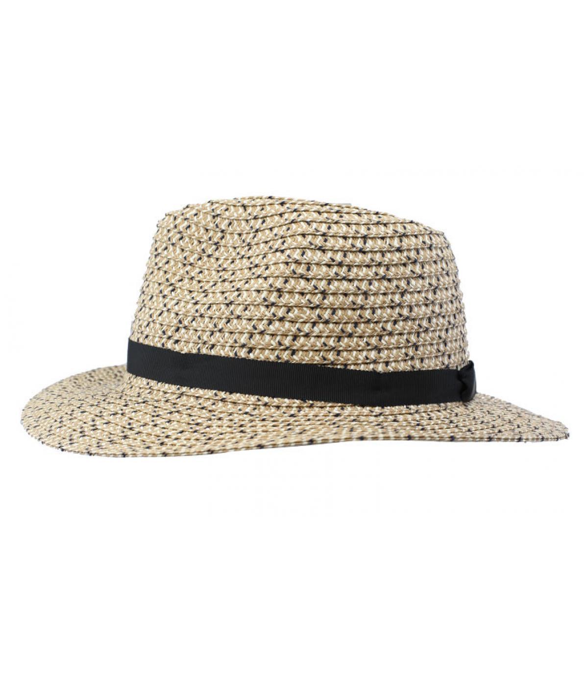 chapeau paille effet chiné