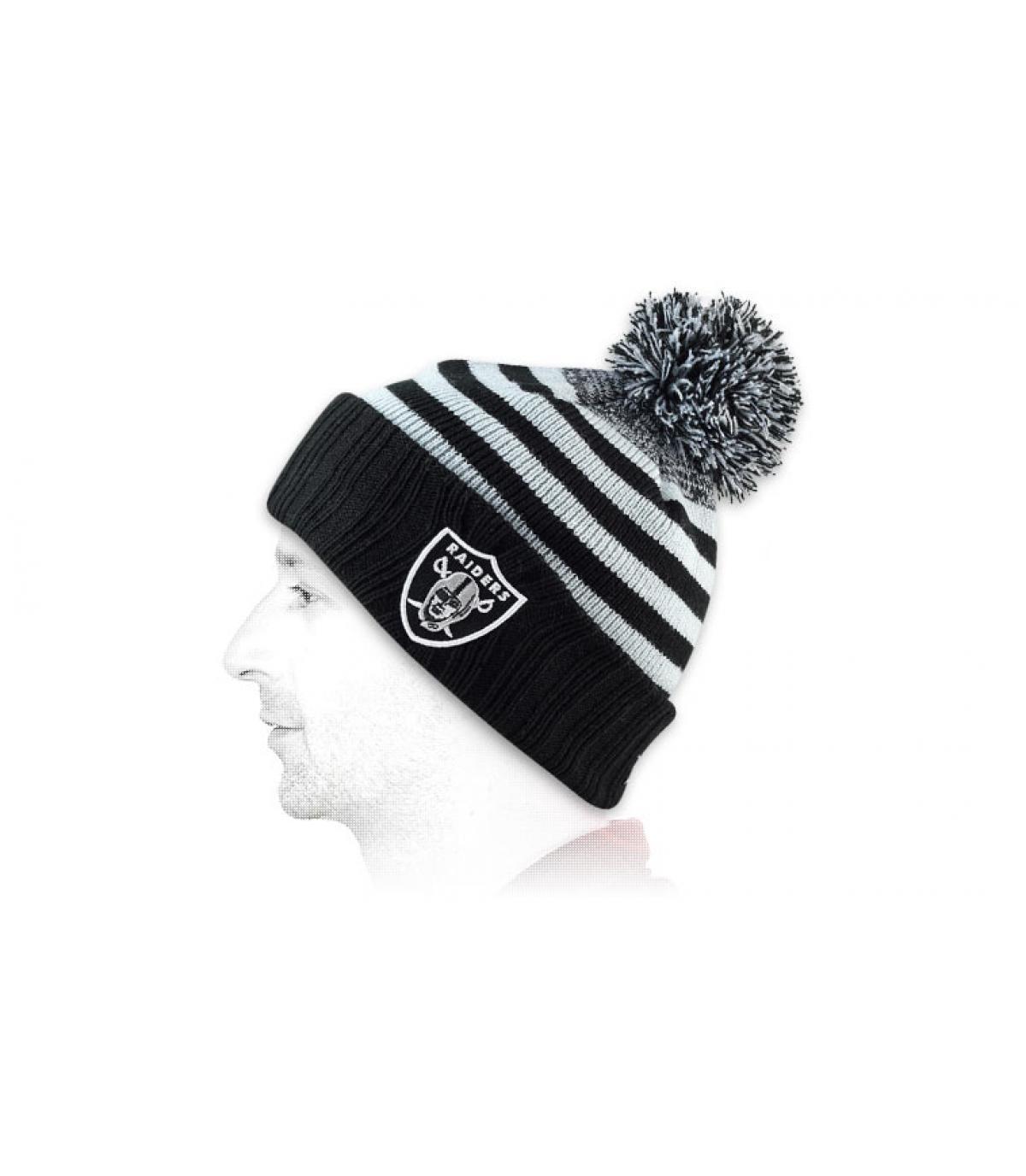 Détails Bonnet Raiders Snowfall stripe 2 - image 2