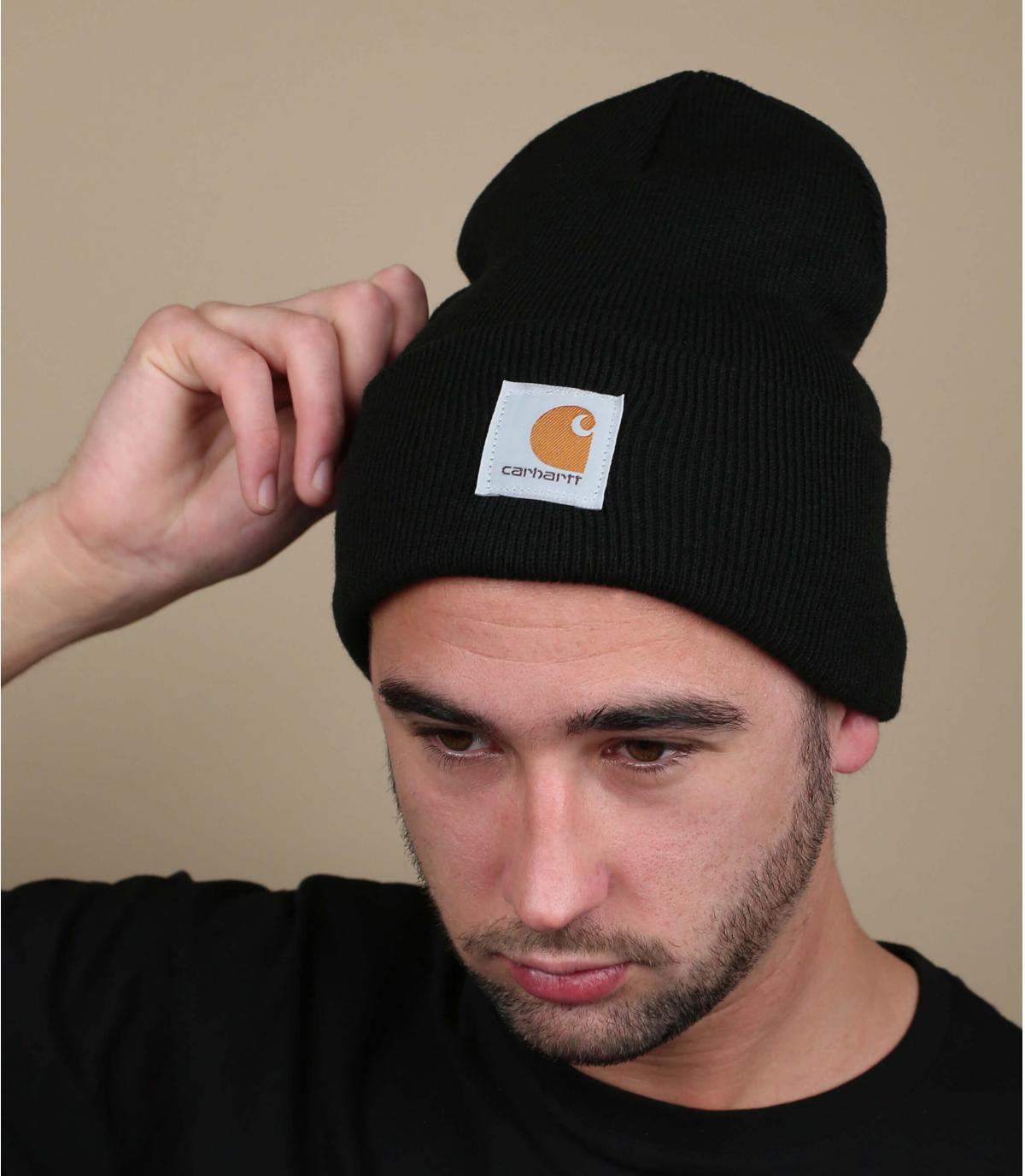 bonnet noir carhartt