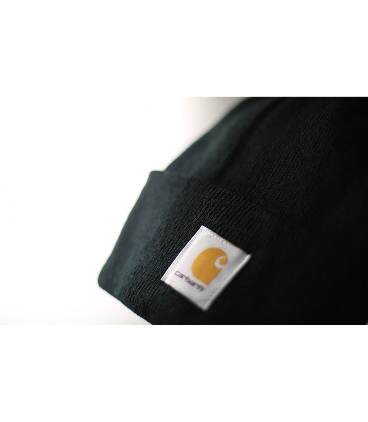 bonnet carhartt noir bonnet revers noir par carhartt. Black Bedroom Furniture Sets. Home Design Ideas