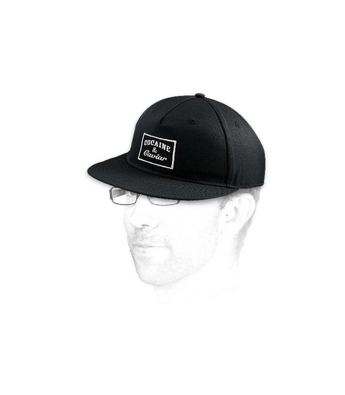 Détails Snapback Cocaine & Caviar black - image 3