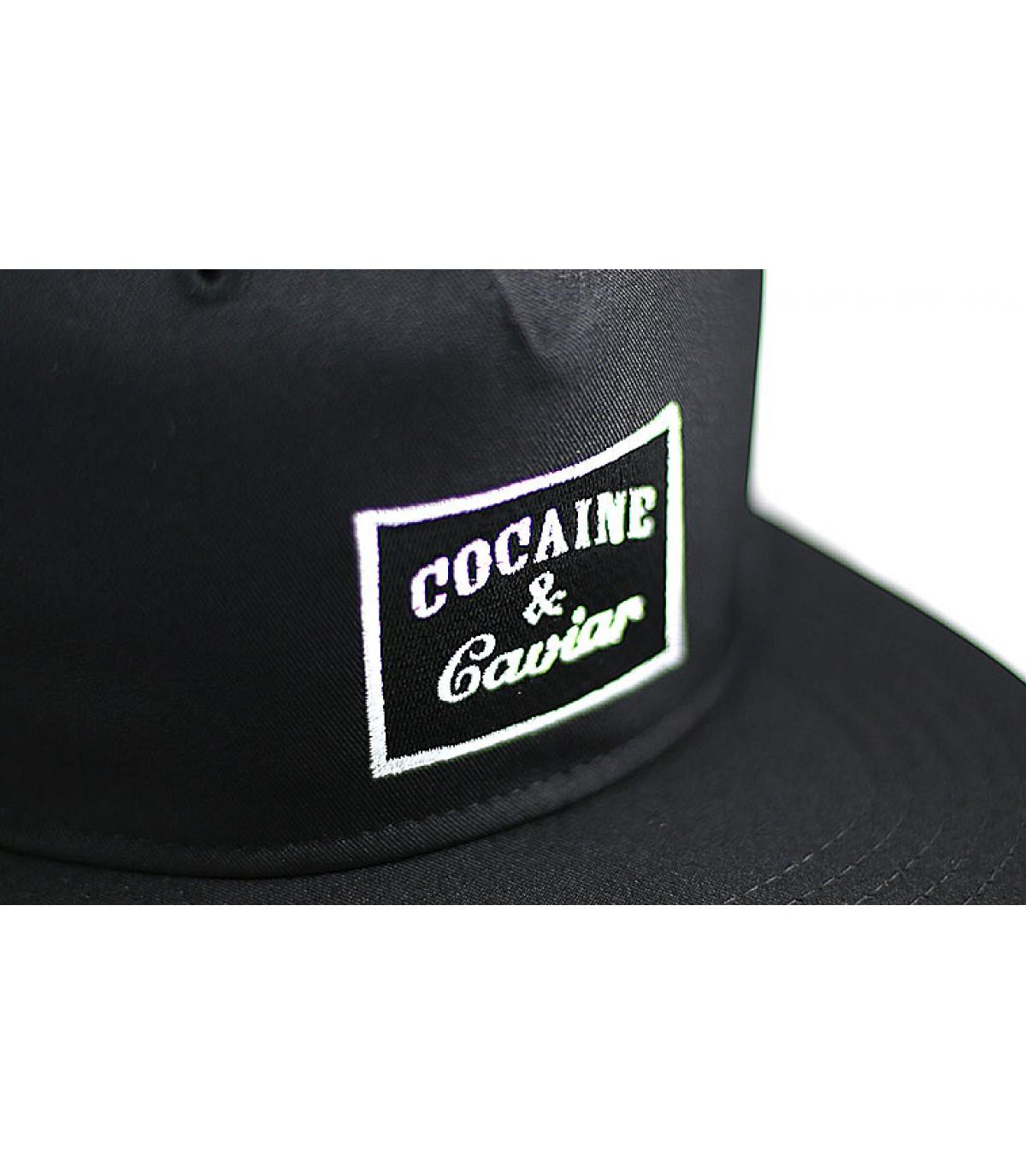 Détails Snapback Cocaine & Caviar black - image 4