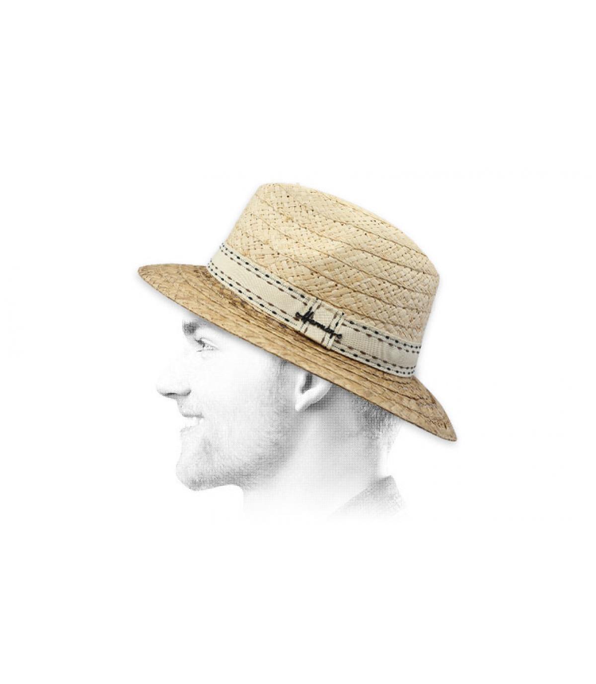 chapeau paille Herman