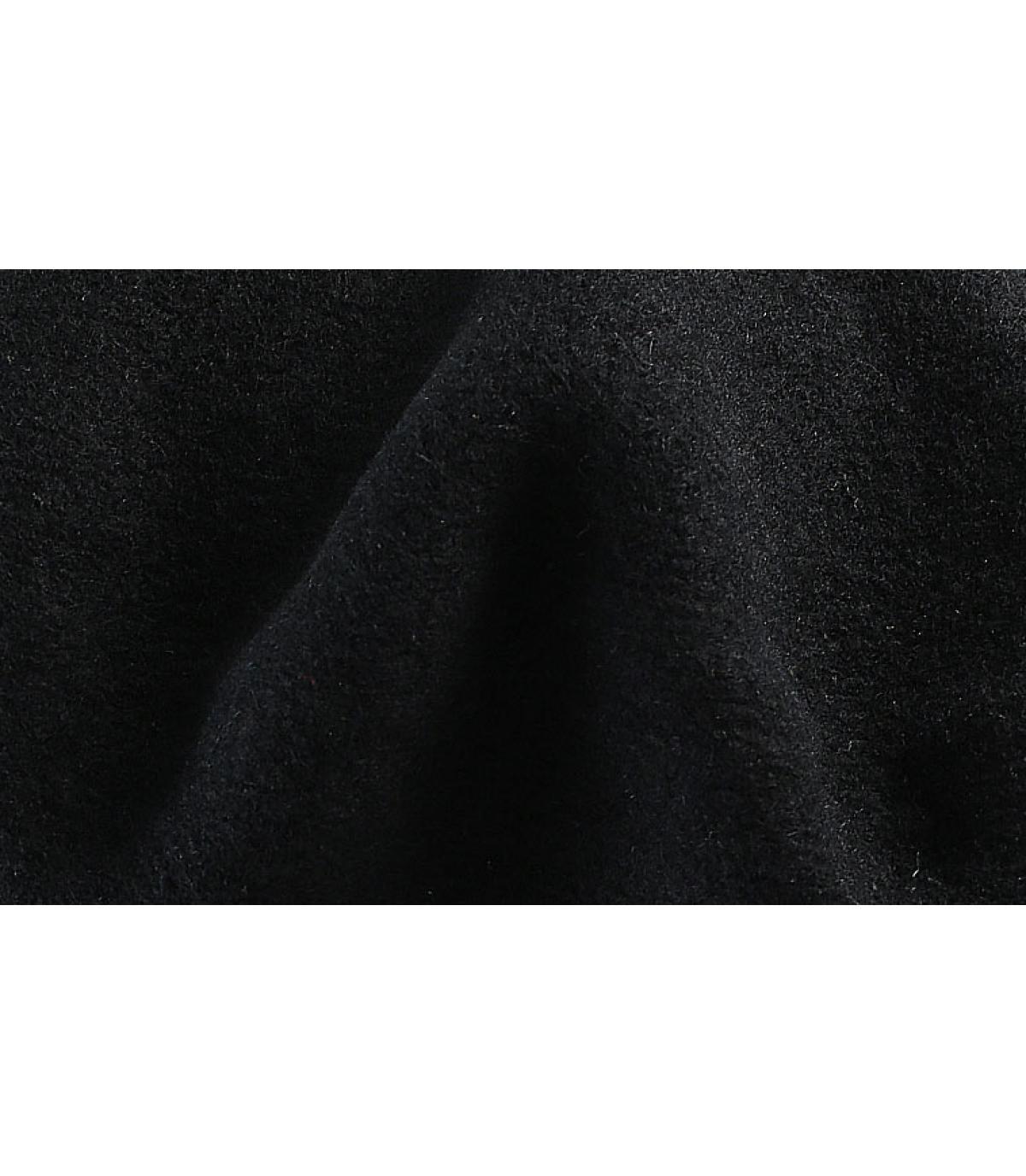 Détails Beret classique noir - image 3