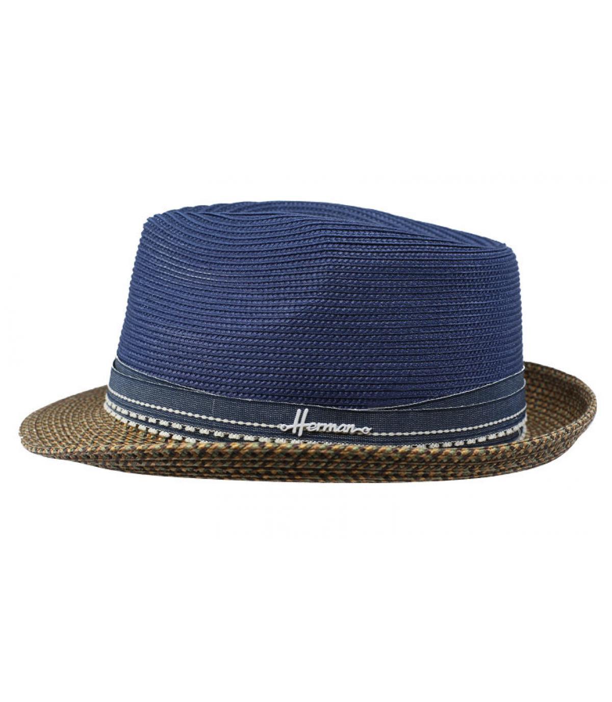 chapeau bleu déperlant