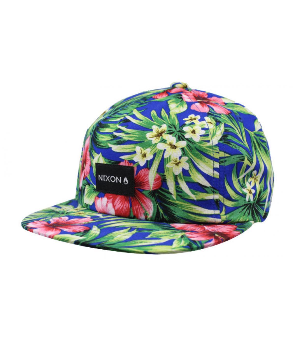 casquette fleurs Nixon