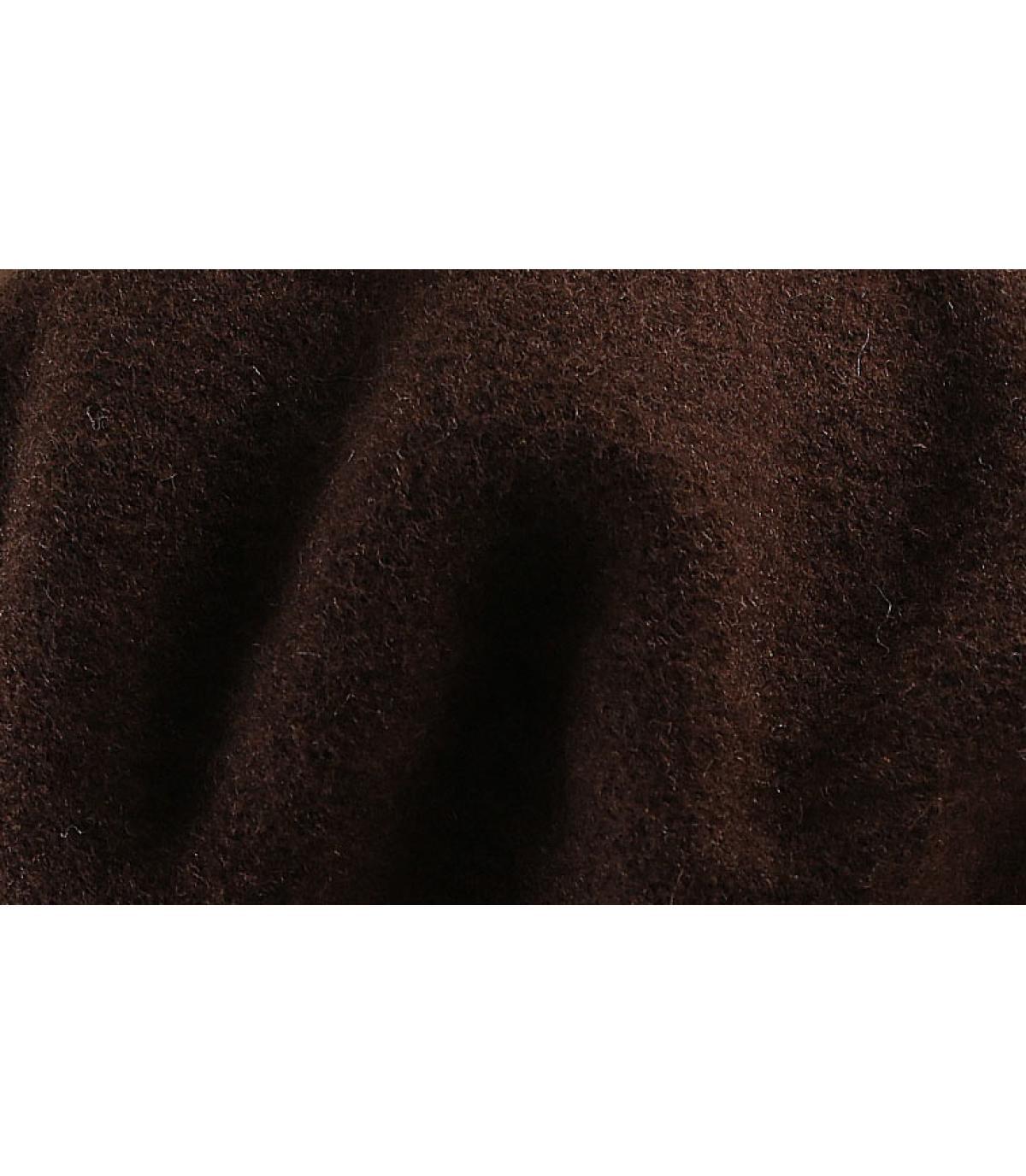 Détails Beret classique chocolat - image 3