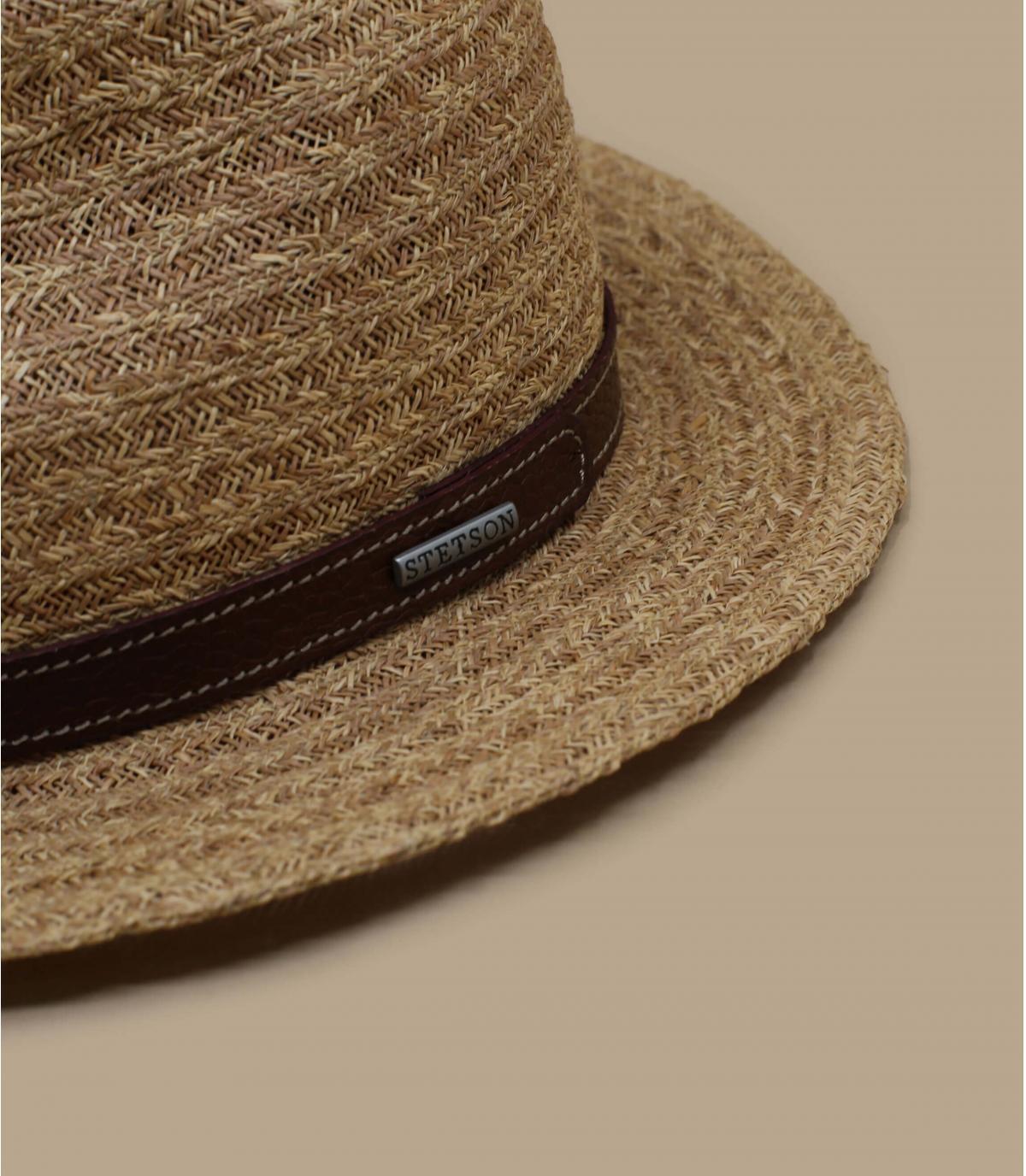 chapeau paille Stetson