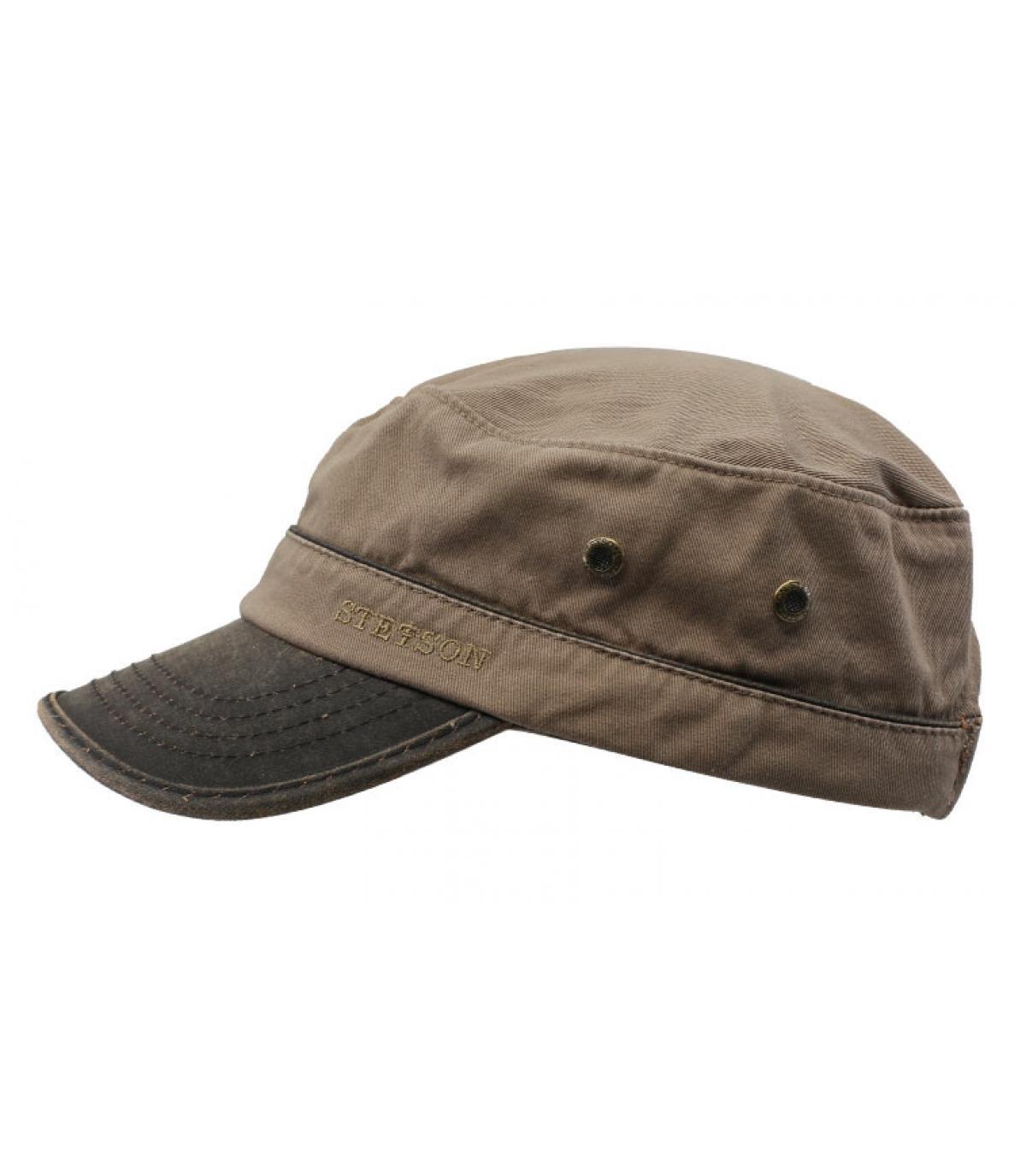 Détails Army Cap Cotton brown - image 2