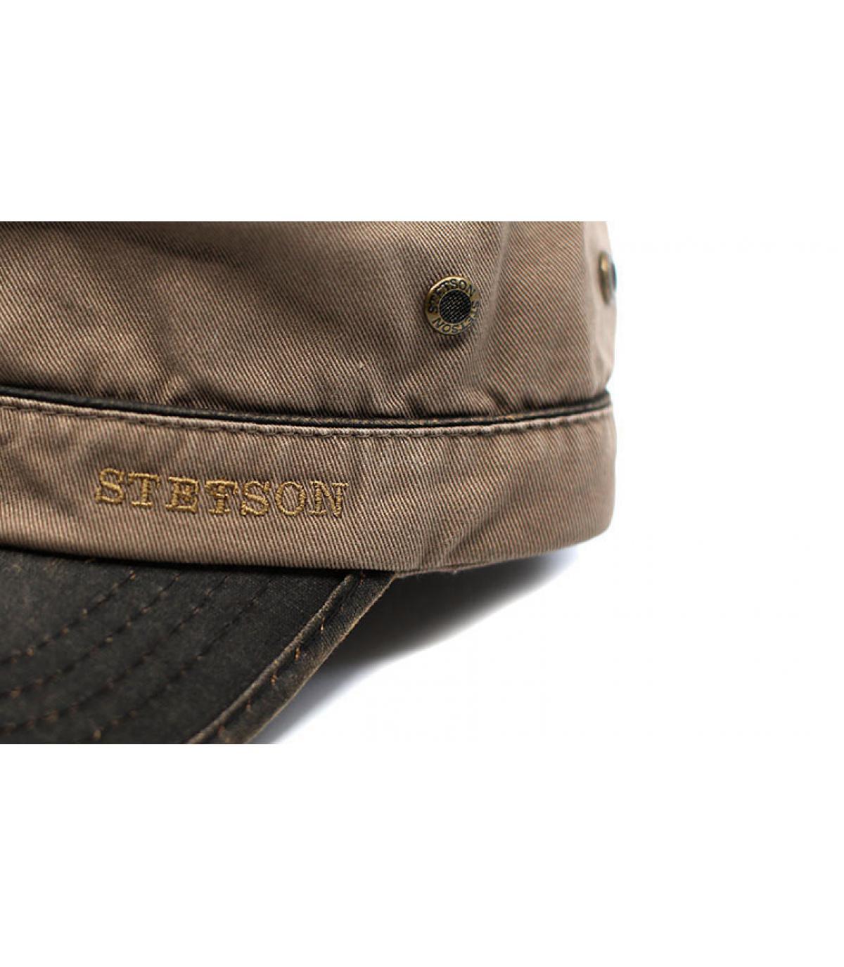 Détails Army Cap Cotton brown - image 3