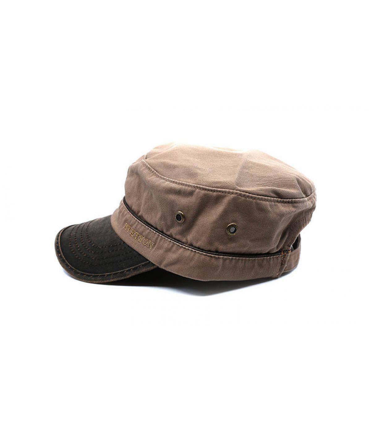 Détails Army Cap Cotton brown - image 4