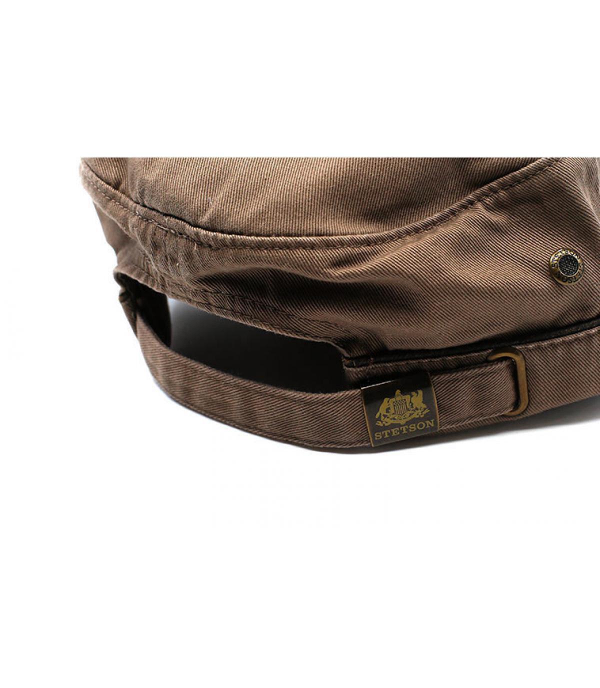 Détails Army Cap Cotton brown - image 5