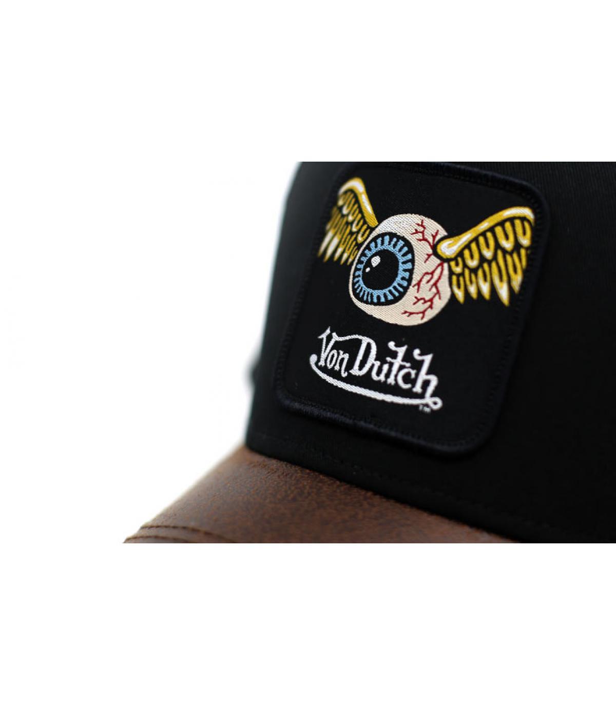 Détails Trucker Eye Patch black brown - image 3