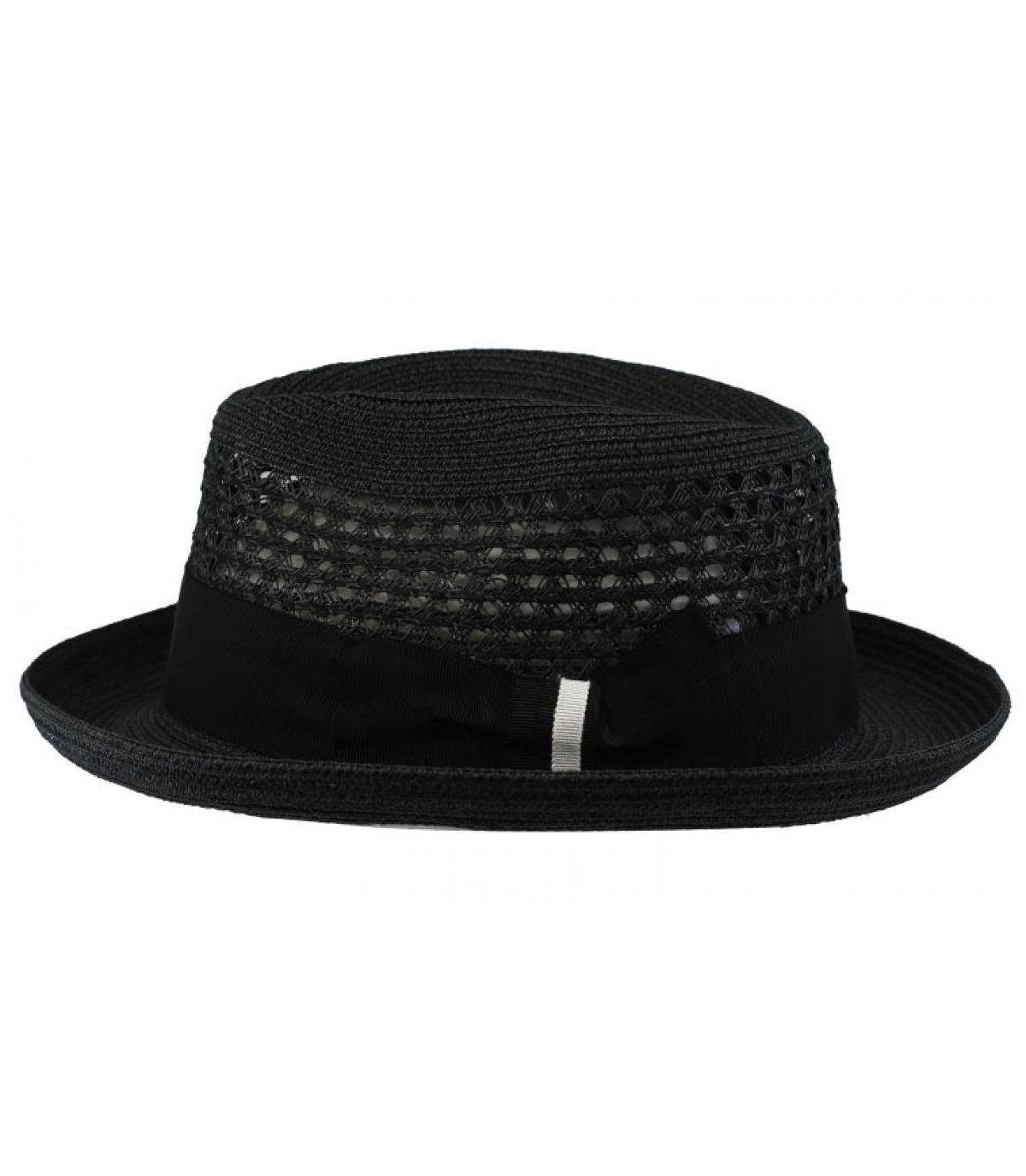 chapeau paille noir Bailey