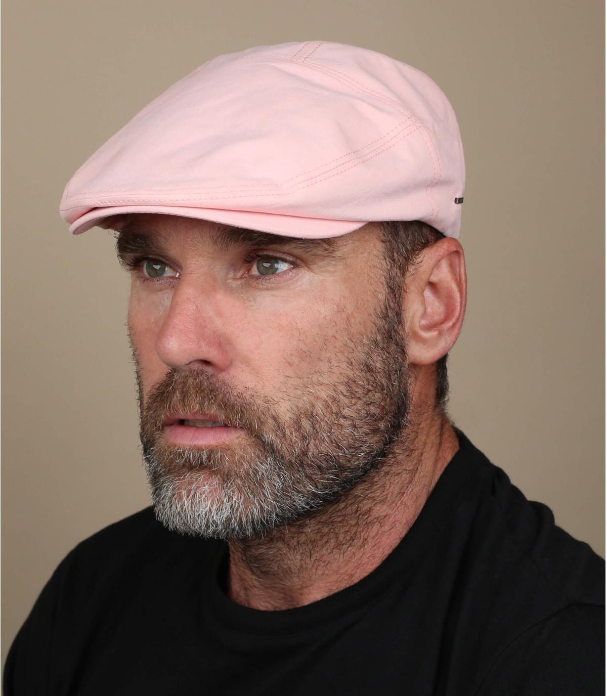 béret rose coton