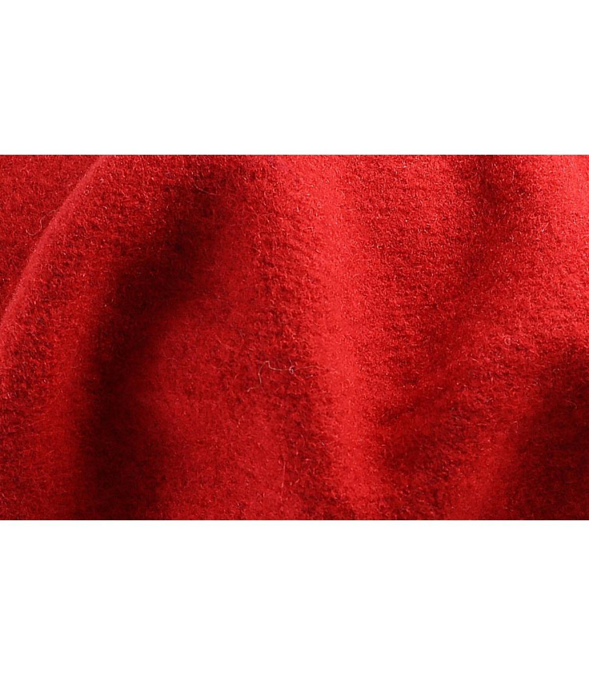 Détails Beret classique rouge - image 3