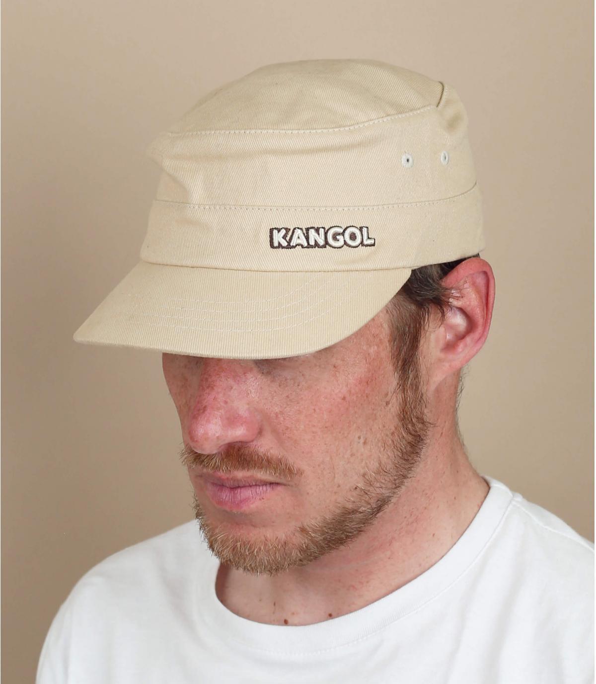 casquette army beige Kangol