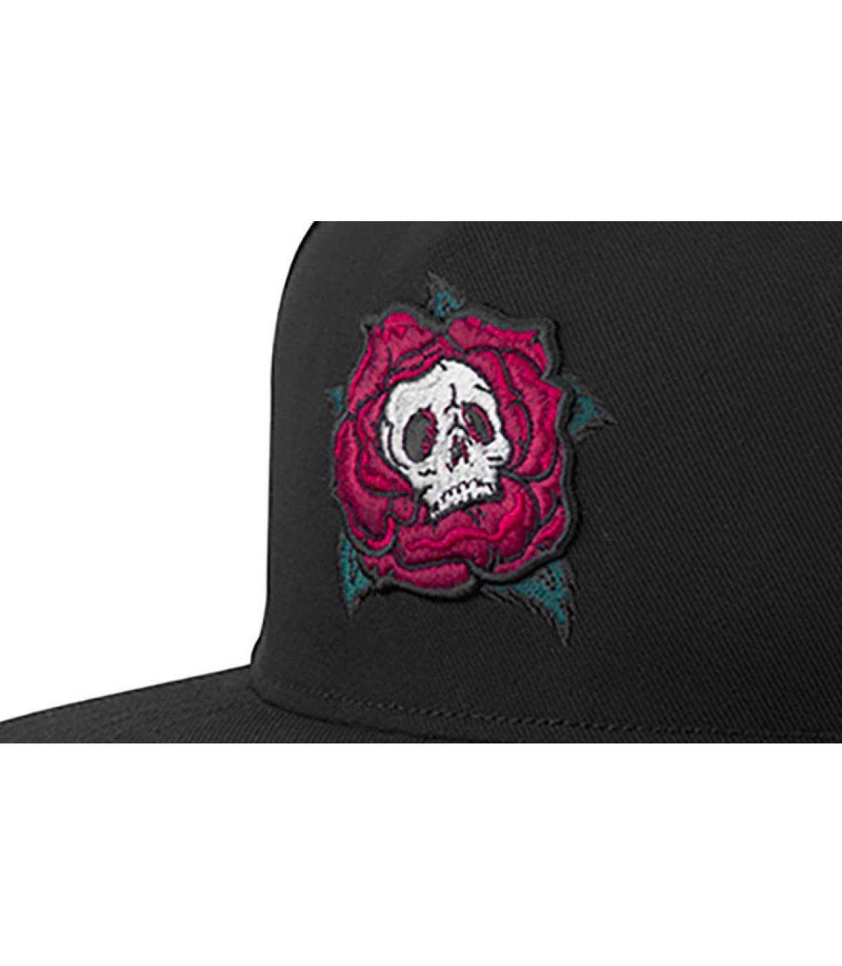 Détails Death Rose Snapback black - image 3