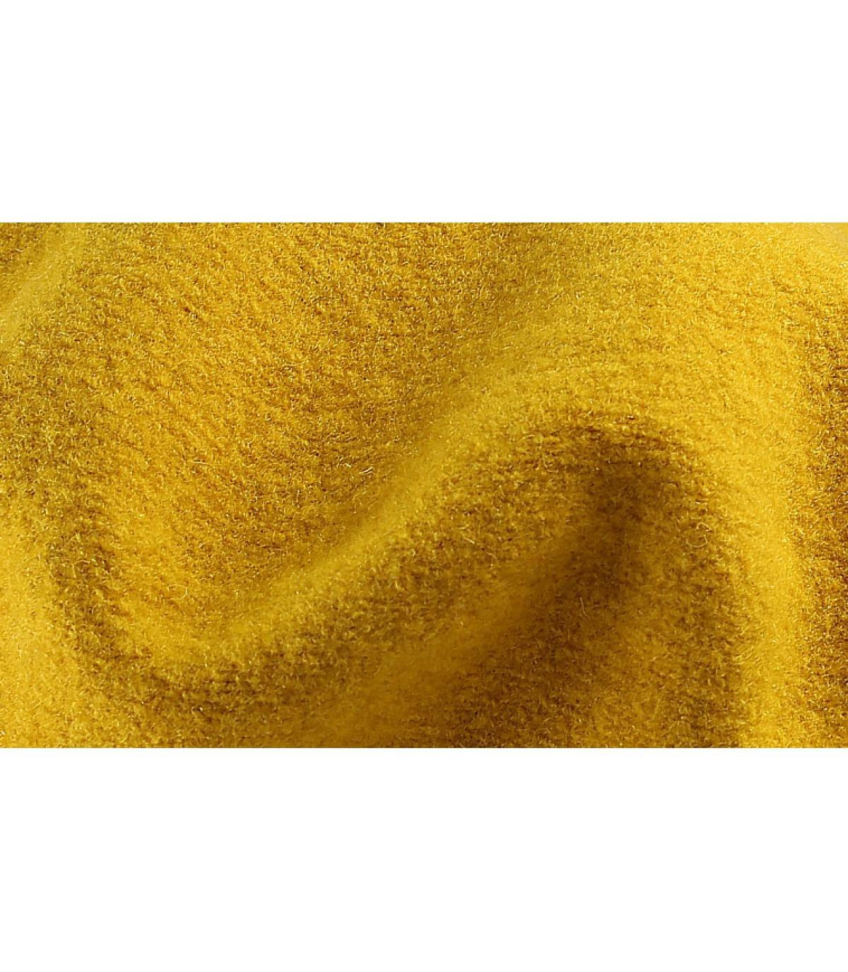 Détails Beret classique moutarde - image 3