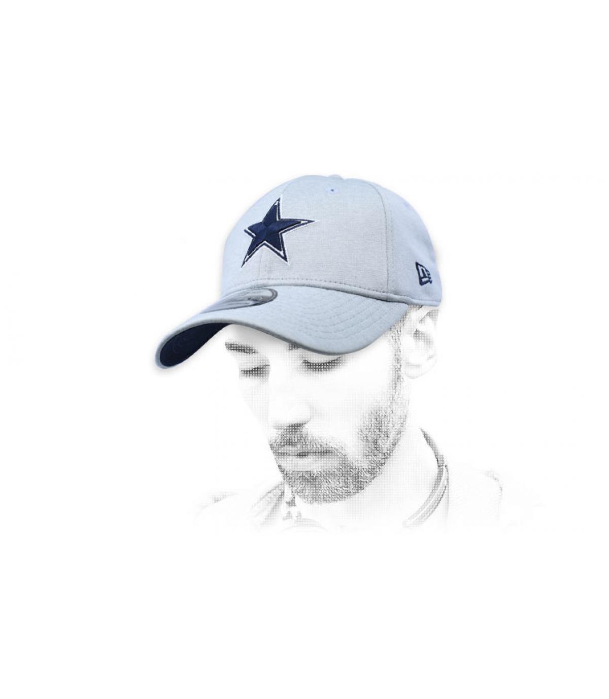 casquette Dallas Cowboys gris