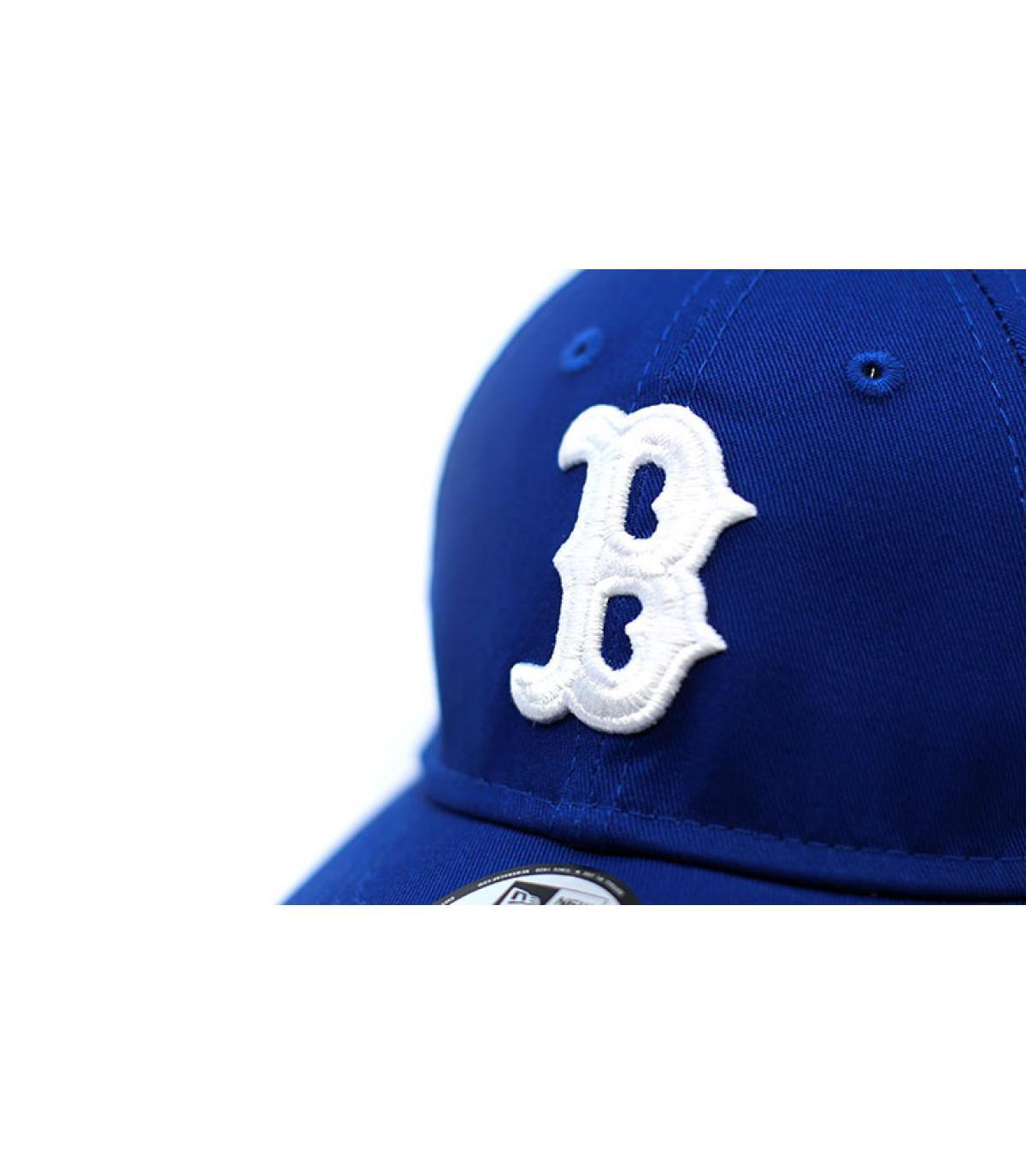 Détails Casquette League Ess 9Forty Boston light royal - image 3