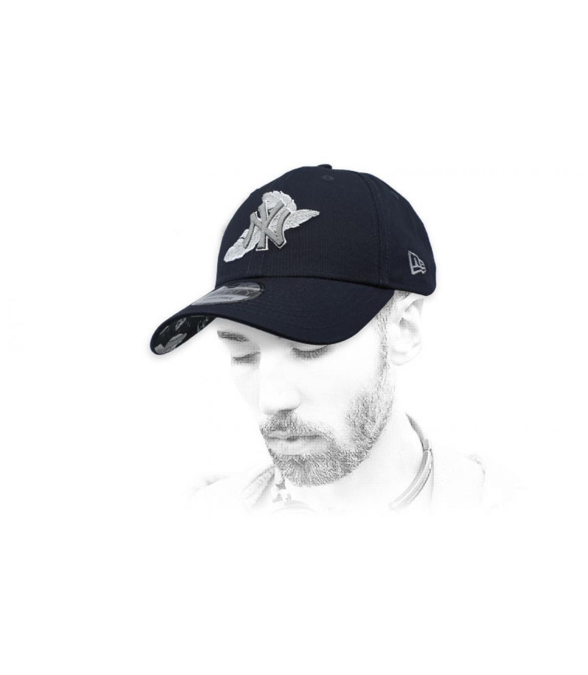 casquette noire NY