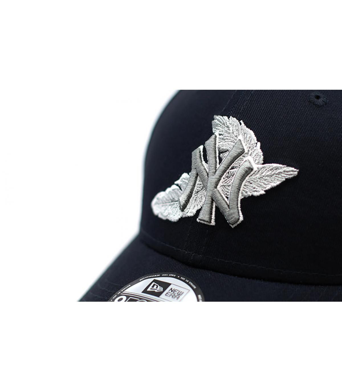 Détails Casquette MLB Light Weight NY 9Forty navy gray - image 3